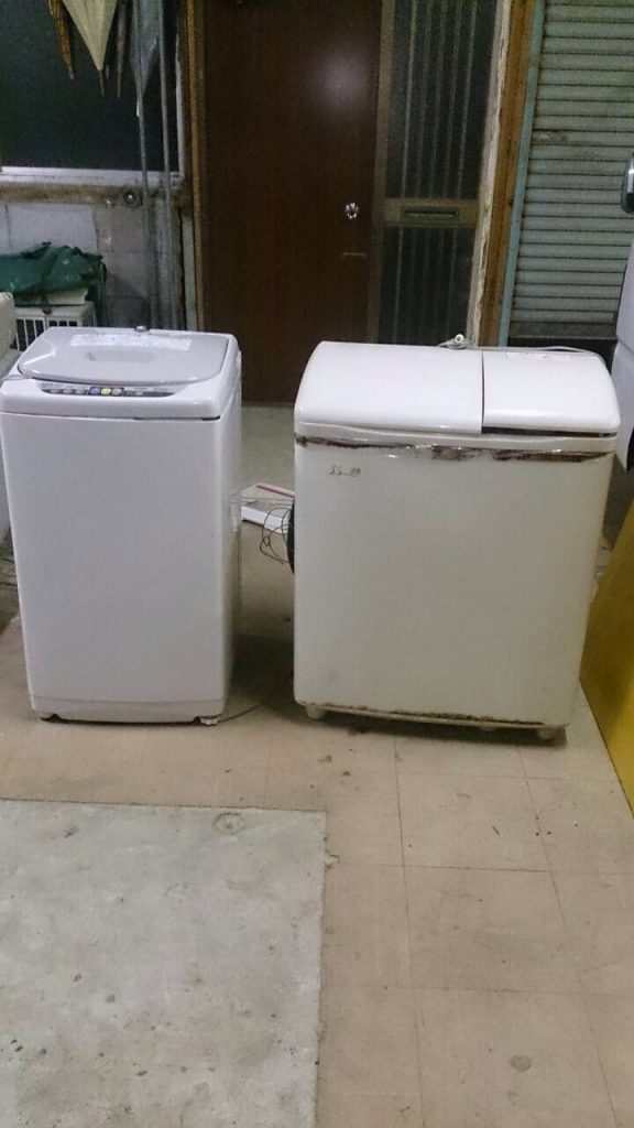 旧型洗濯機