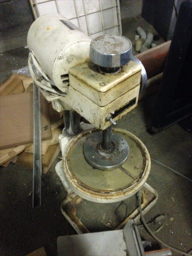 不用品回収したかき氷機