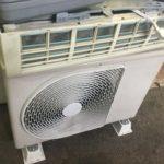 岡山県内で取り外し回収したエアコン