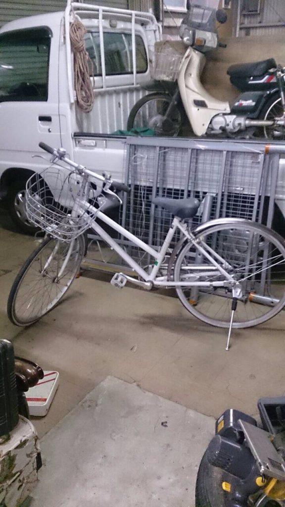 廃棄自転車