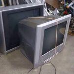 岡山県井原市で回収させて頂いたブラウン管テレビです。
