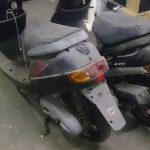 岡山市北区古新田で回収させて頂いたバイクです。