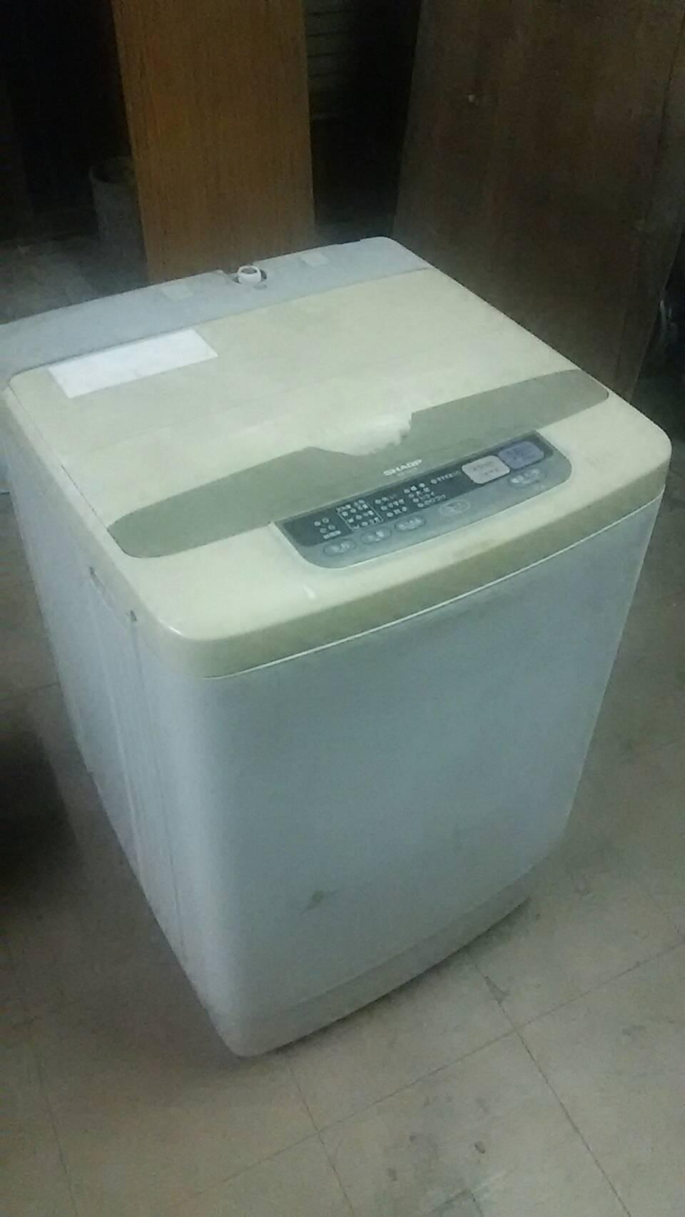 洗濯機①です。