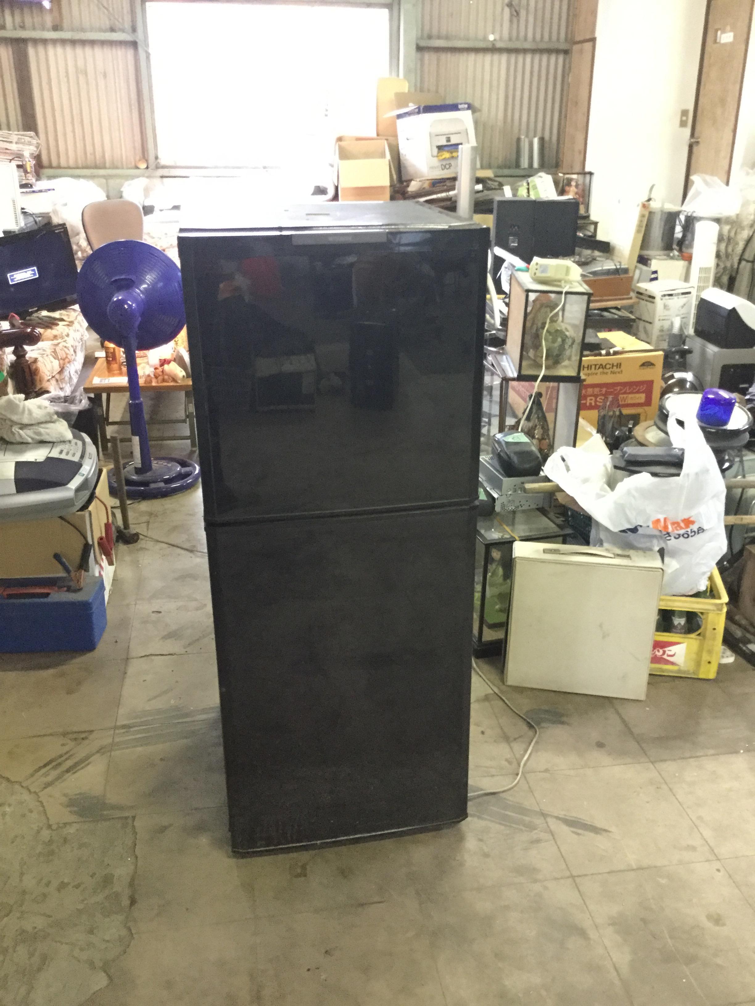 岡山市南区で不用品回収した冷蔵庫