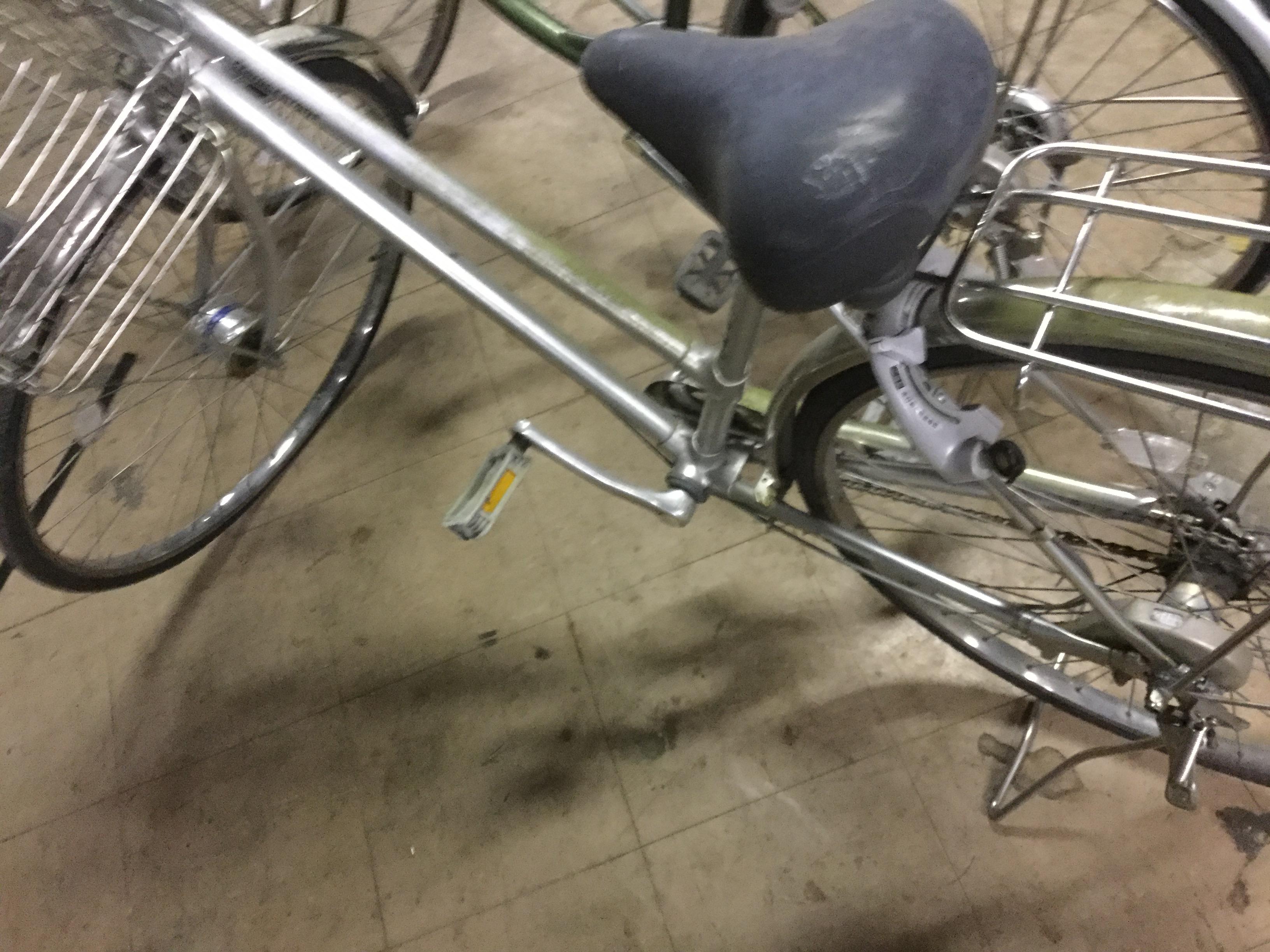岡山市南区で自転車回収、処分