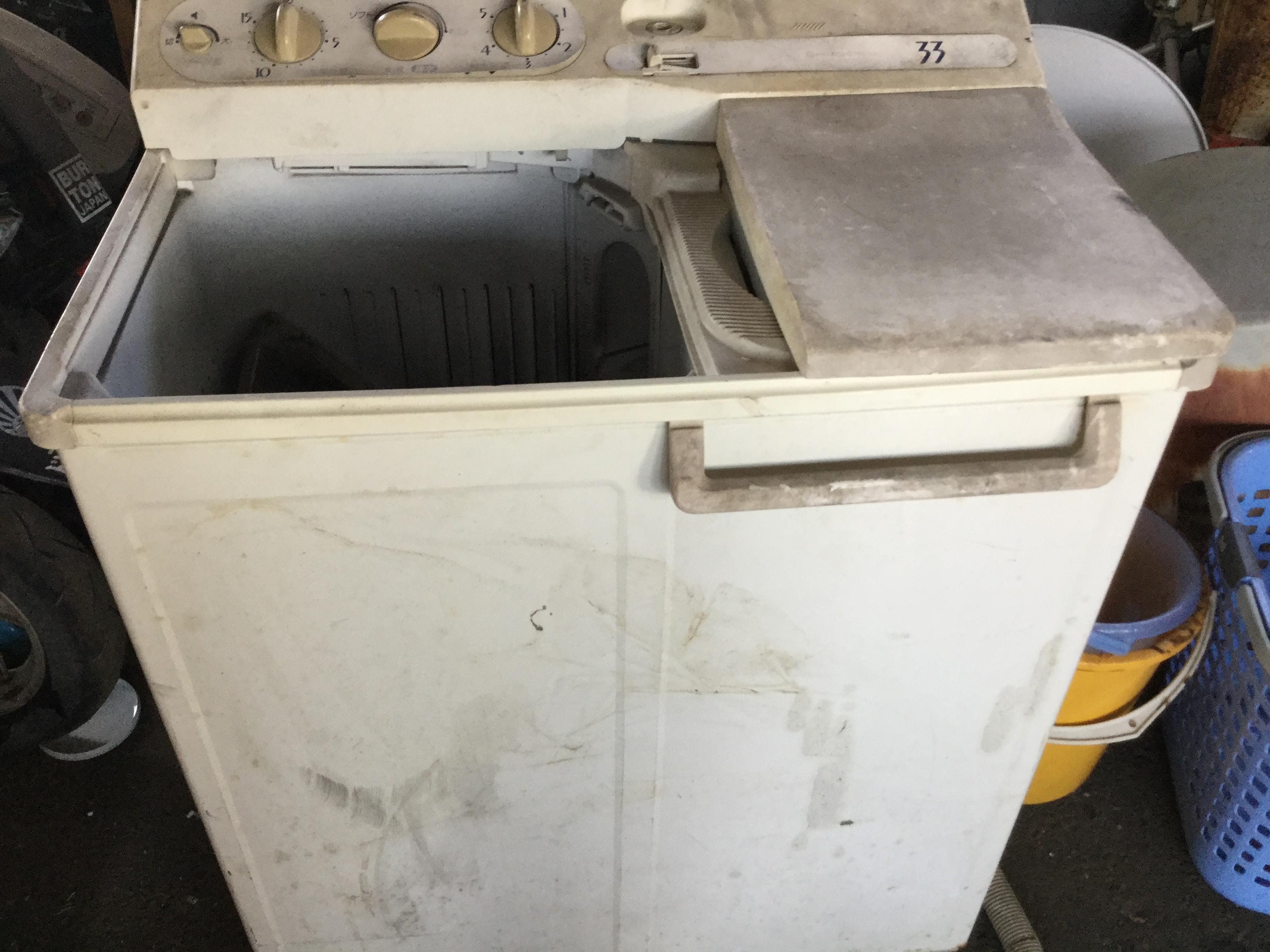 玉野市で不用品回収した洗濯機
