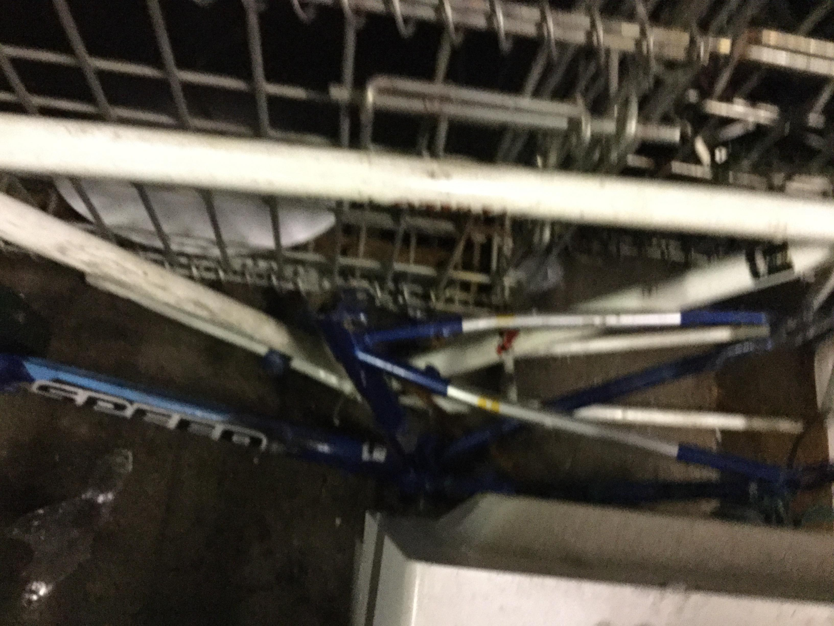津山市で不用品回収した自転車部品
