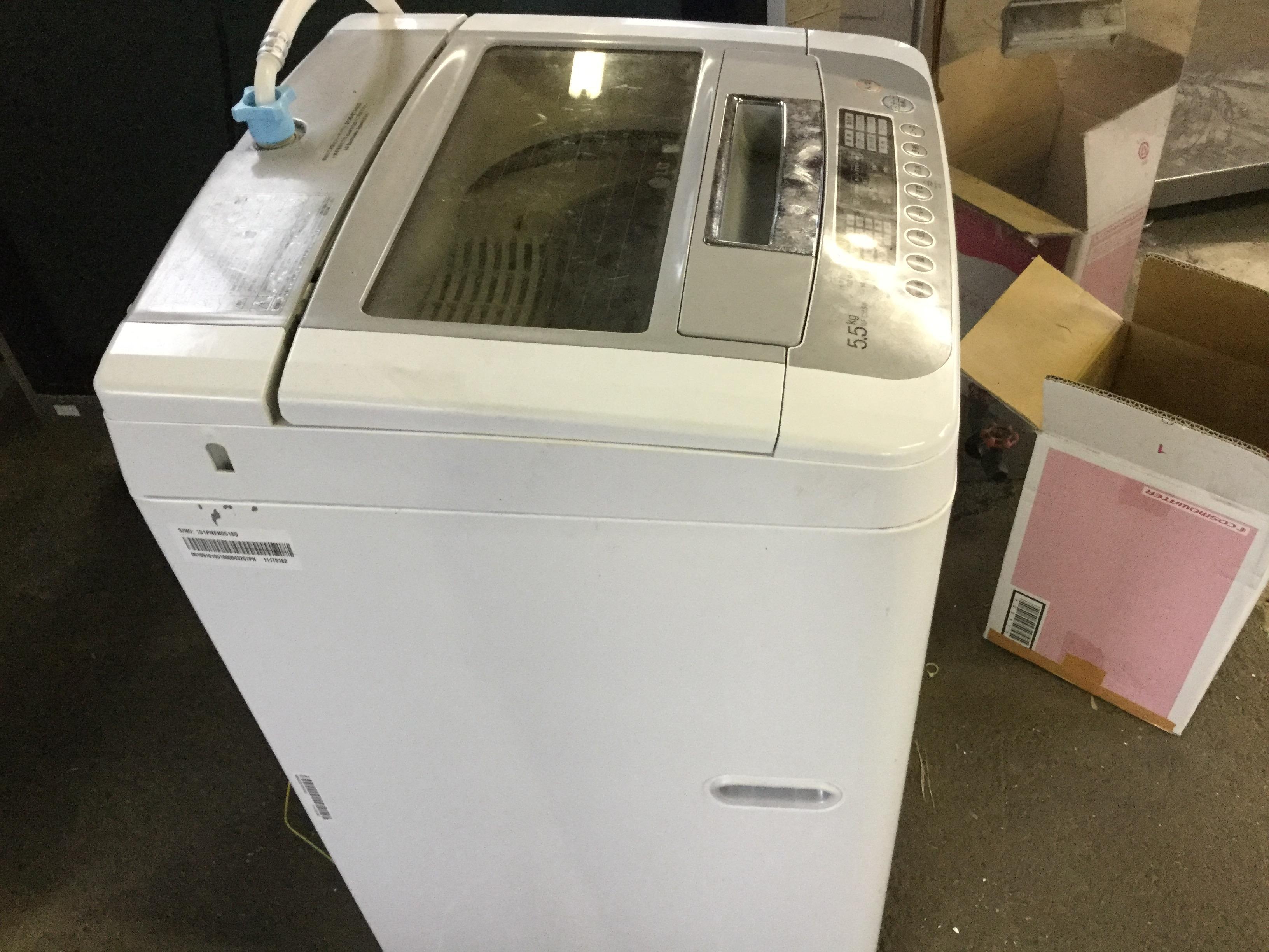 岡山市北区で粗大ゴミの回収をした洗濯機