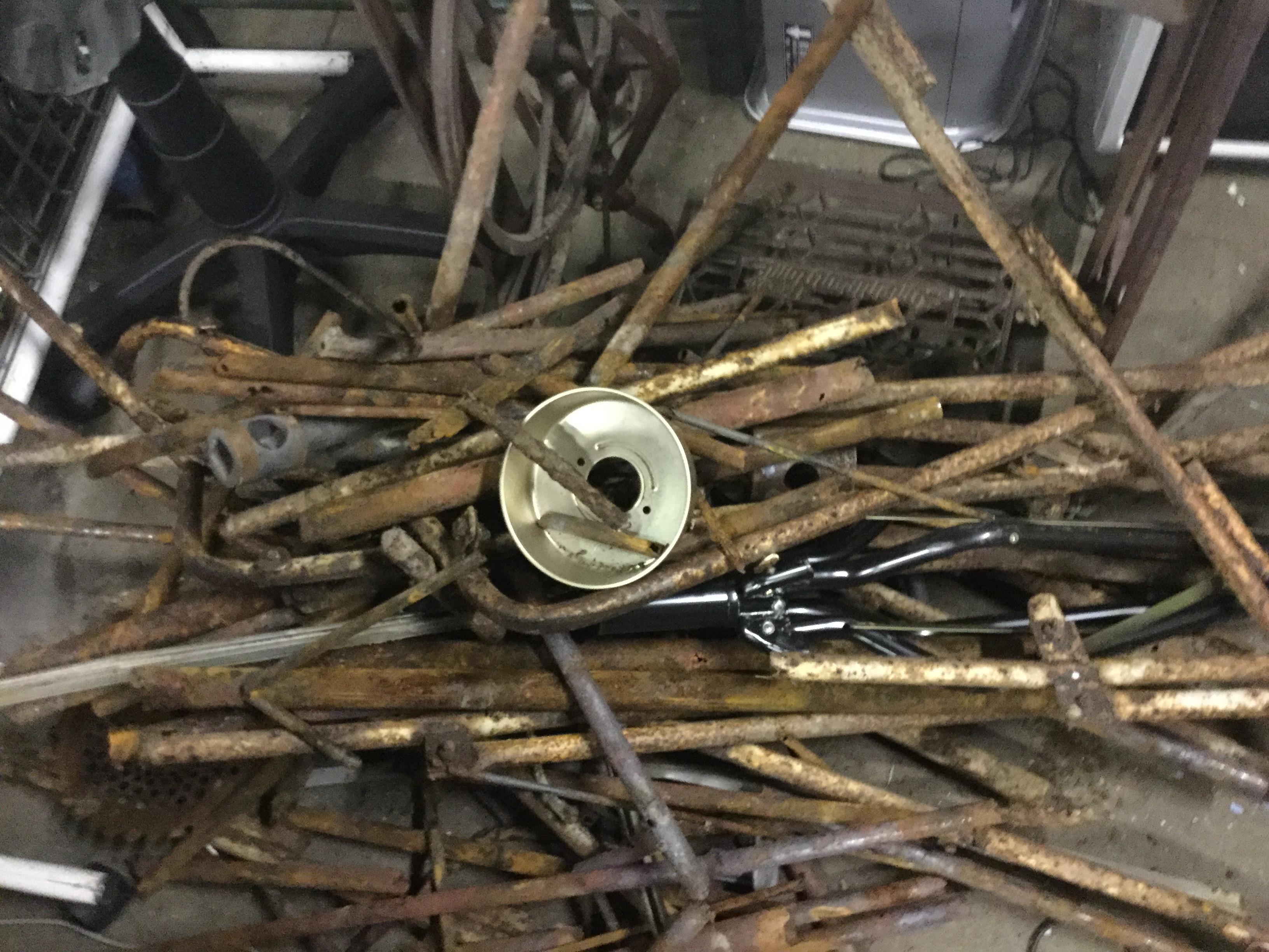 玉野市で不用品回収した鉄