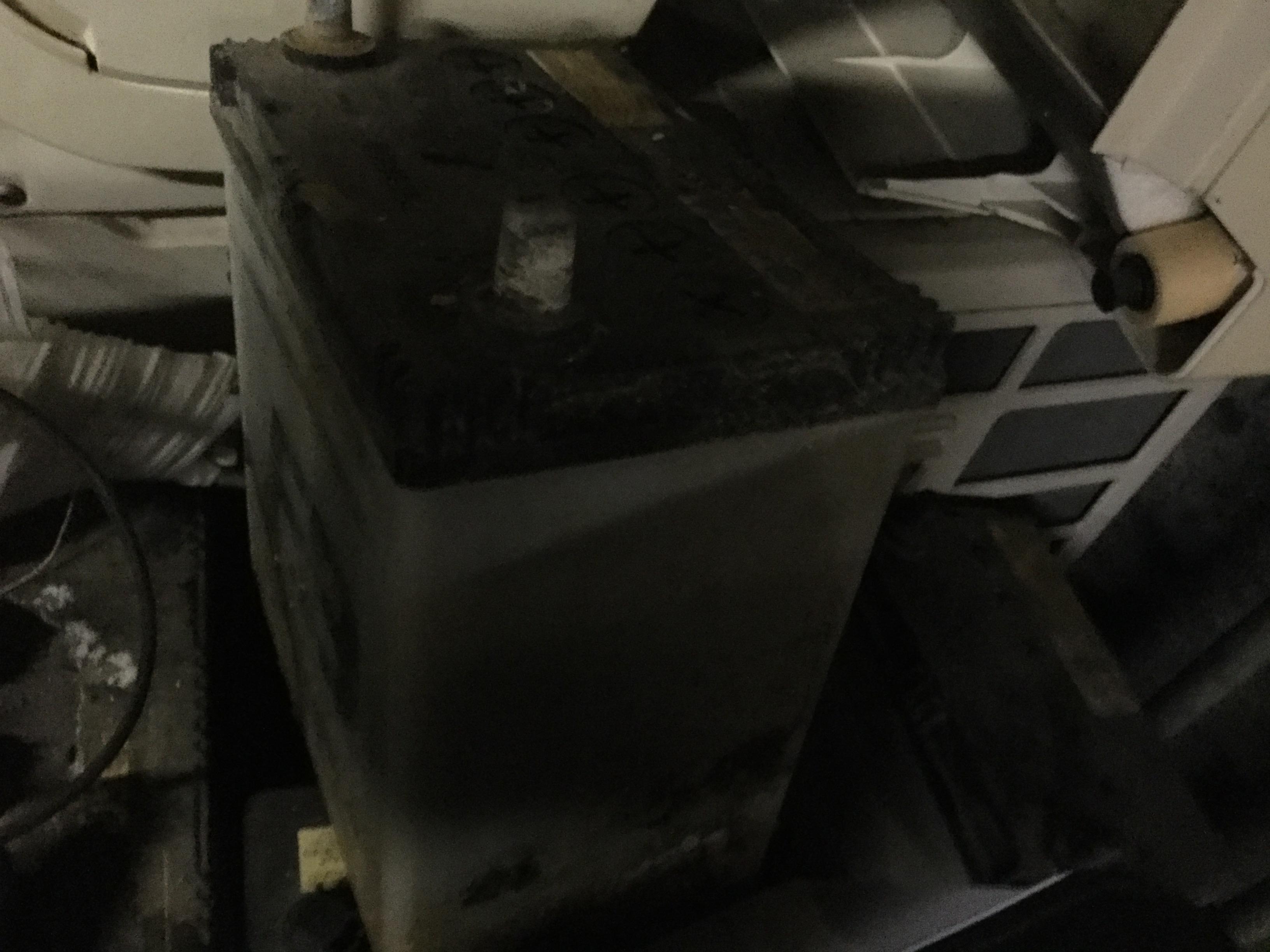 津山市で不用品回収したバッテリー
