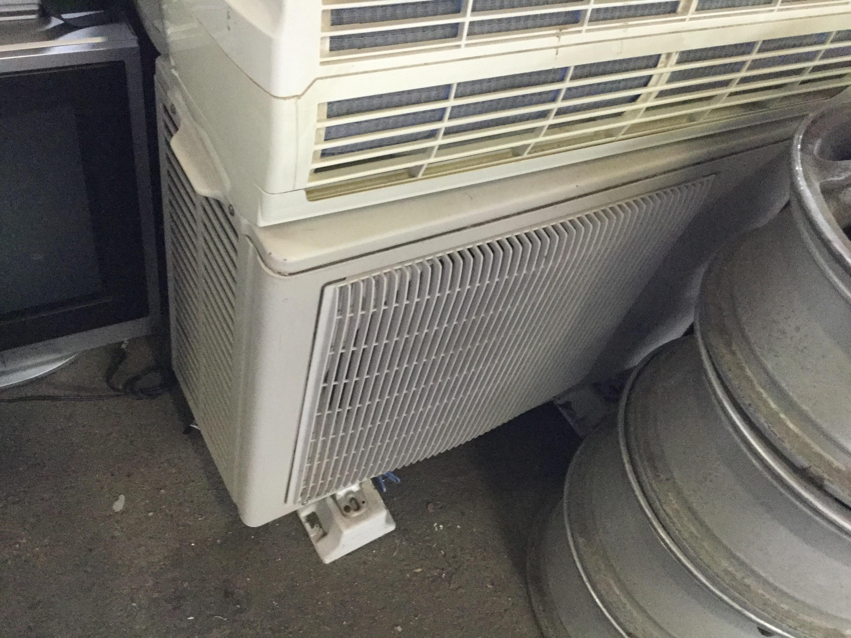 岡山市北区で不用品回収したエアコン