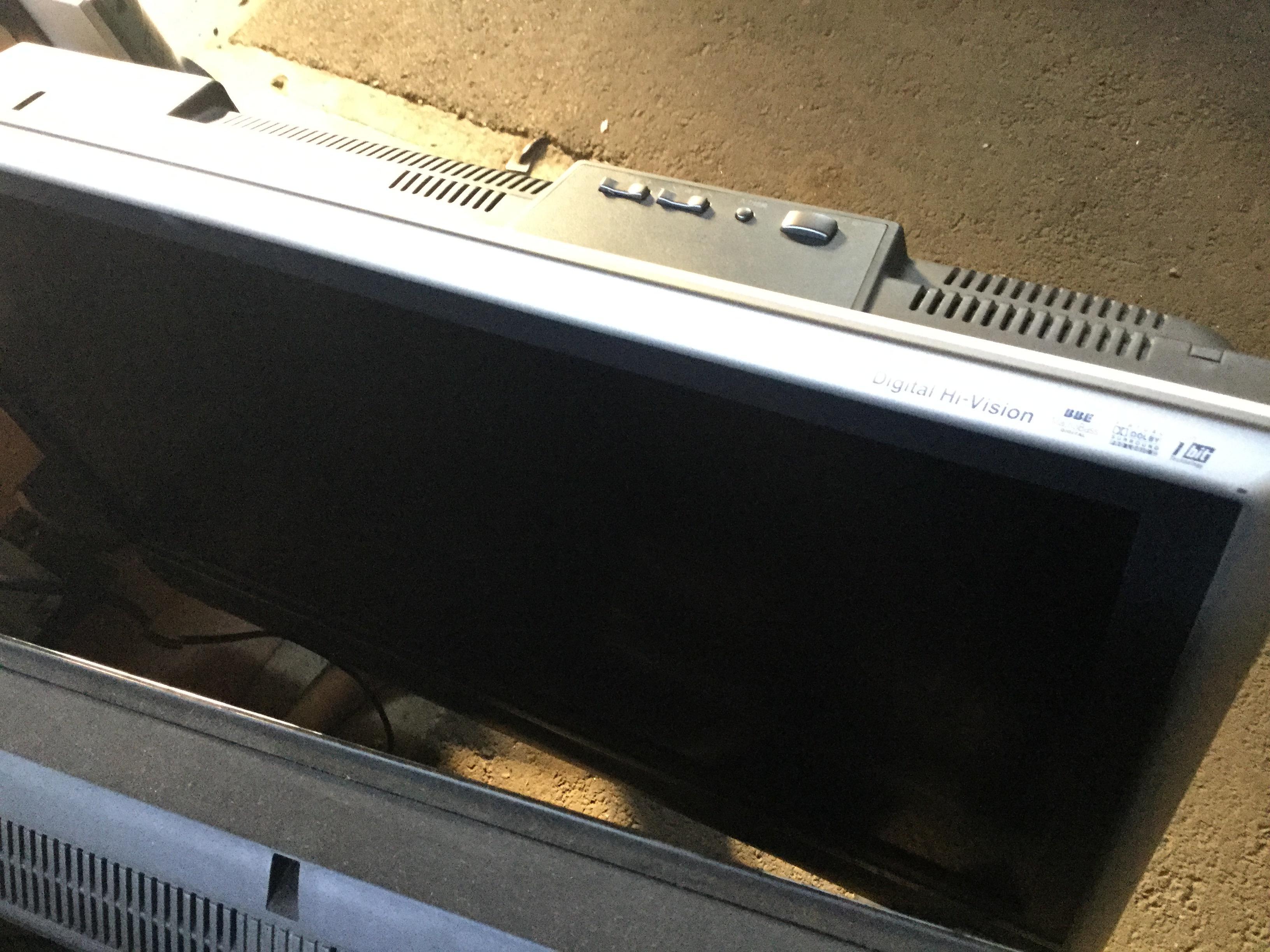 岡山市北区で液晶テレビの回収