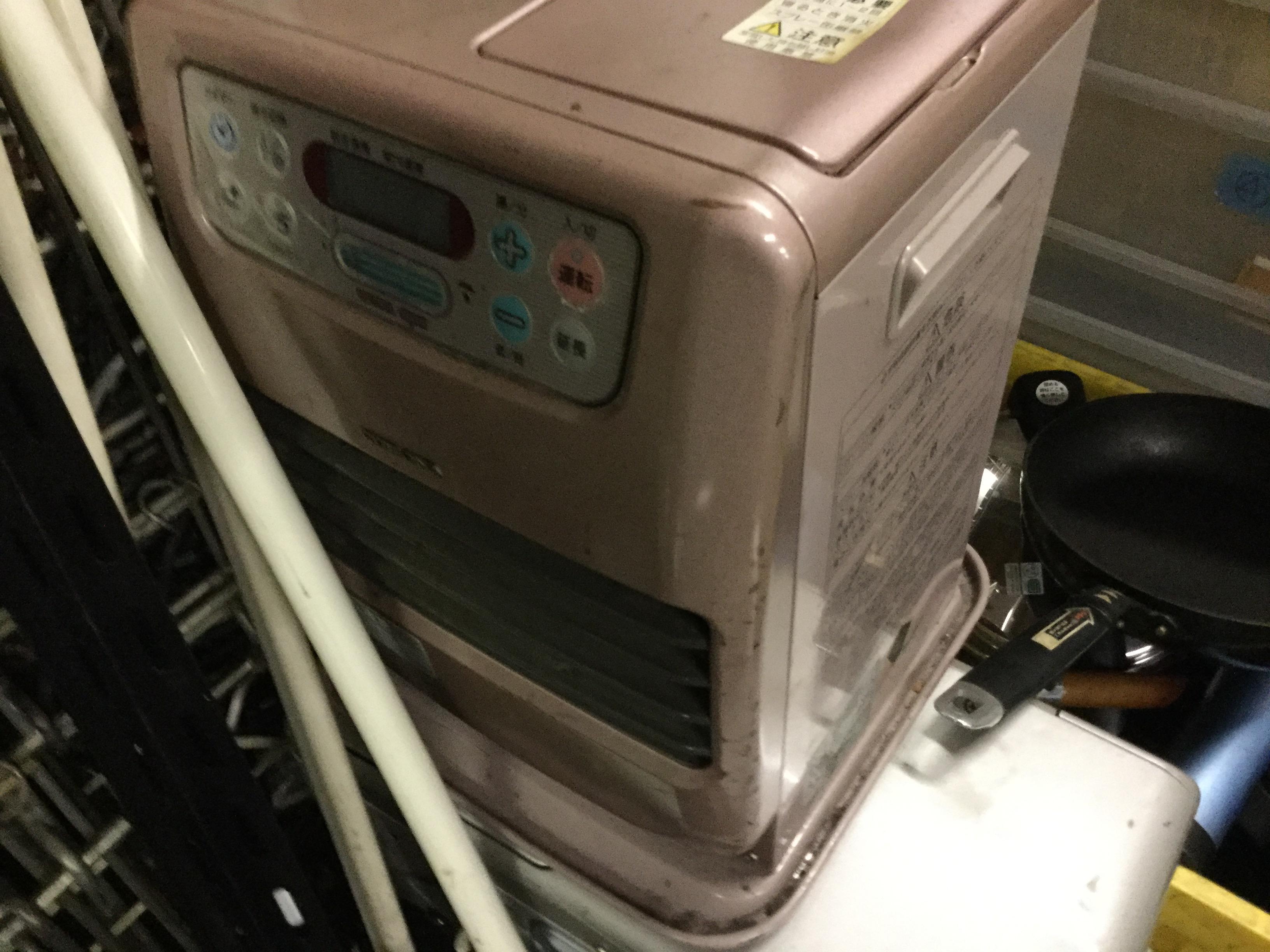 津山市で不用品回収したファンヒーター