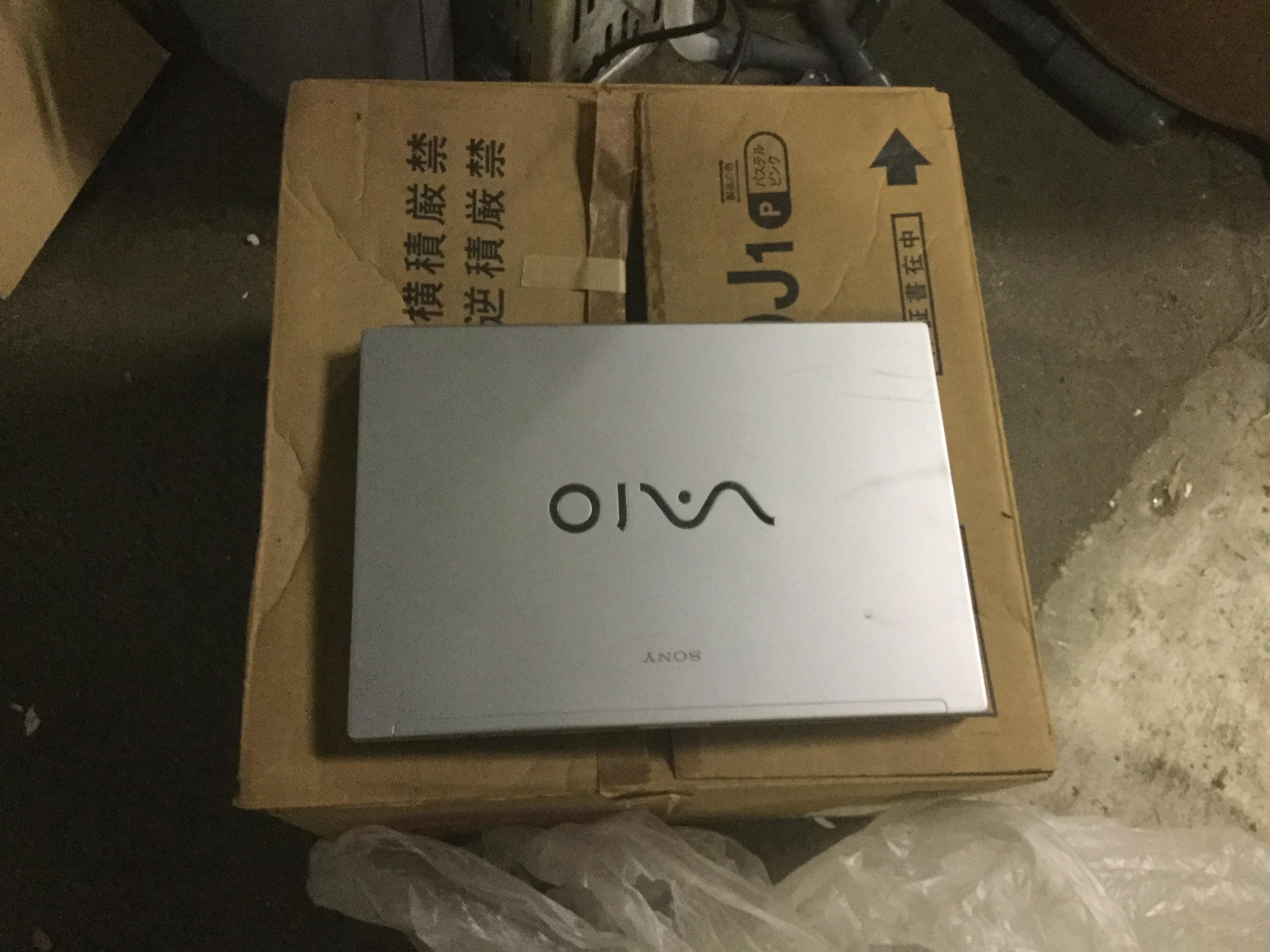 岡山市東区で不用品回収したノートパソコン