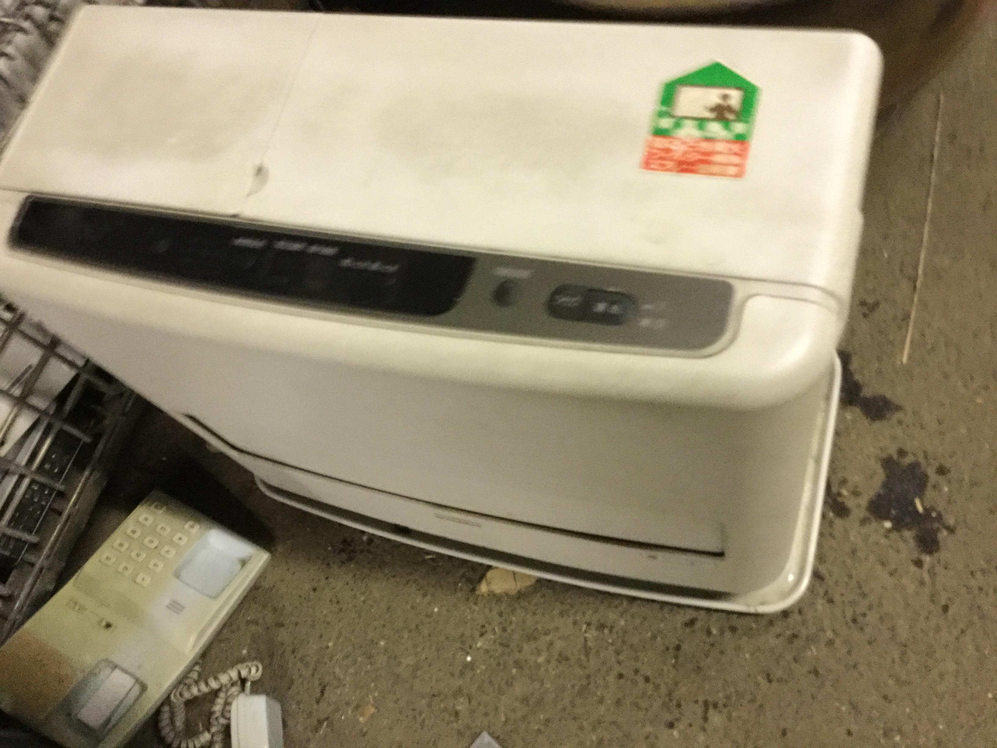 岡山市南区で不用品回収したファンヒーター