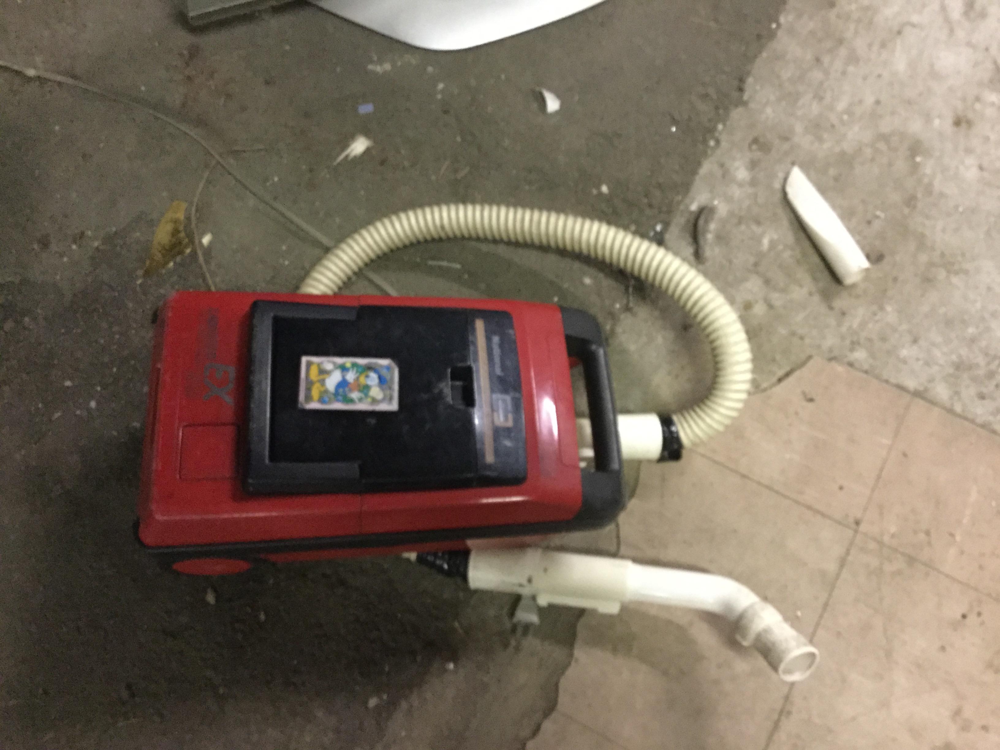 津山市で不用品回収した掃除機