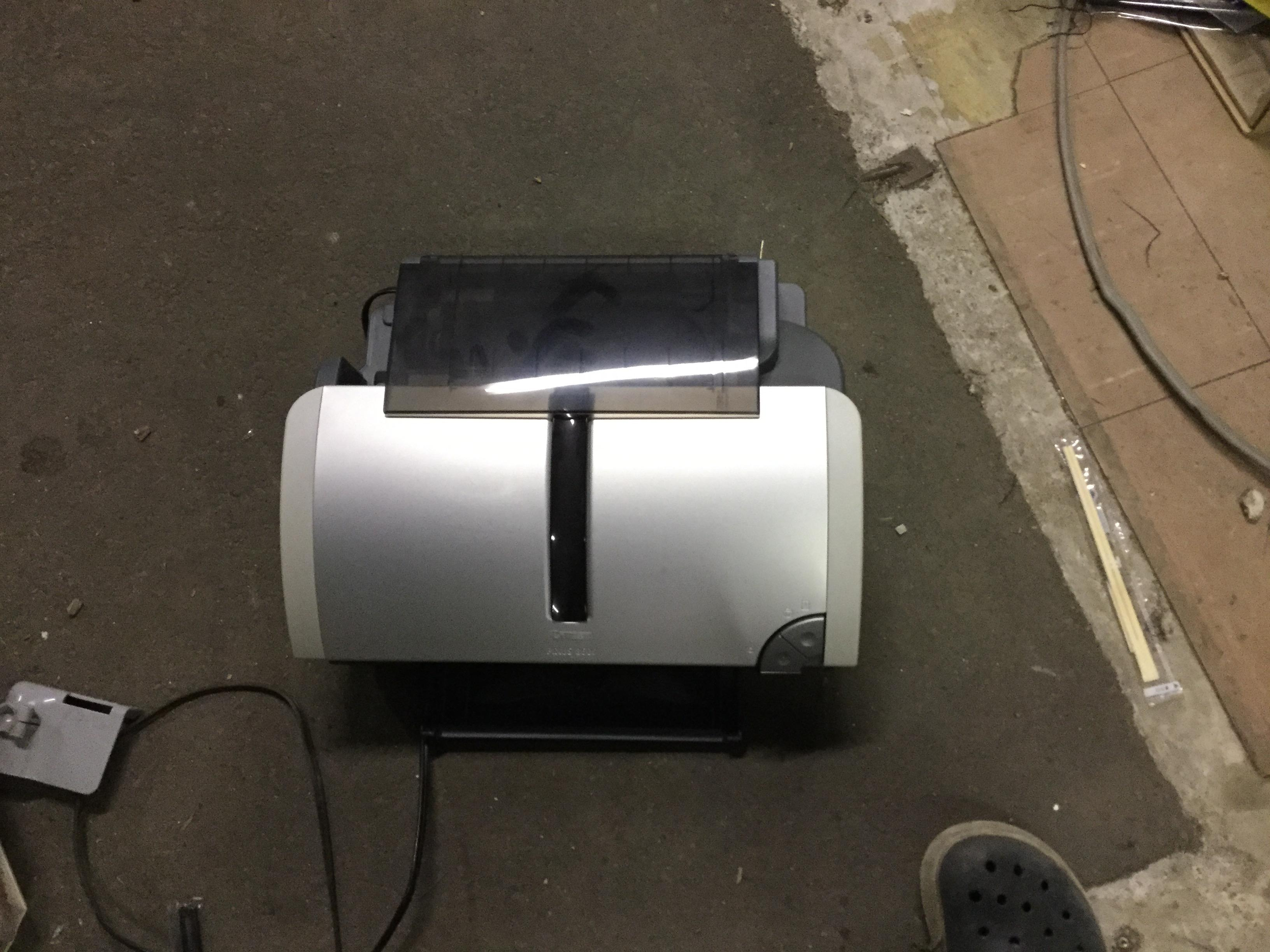 岡山市南区で不用品回収したプリンター