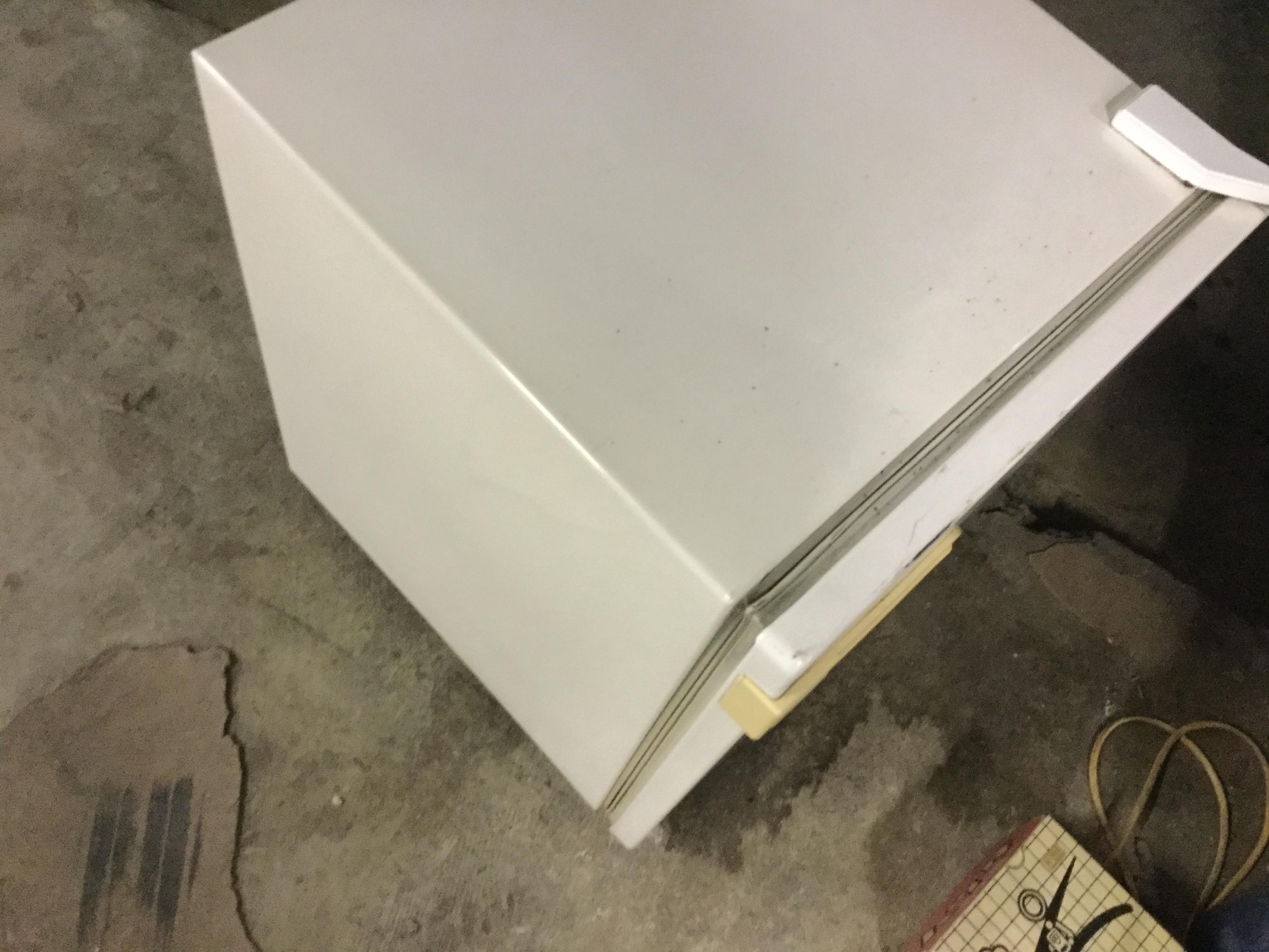 津山市で不用品回収した冷蔵庫