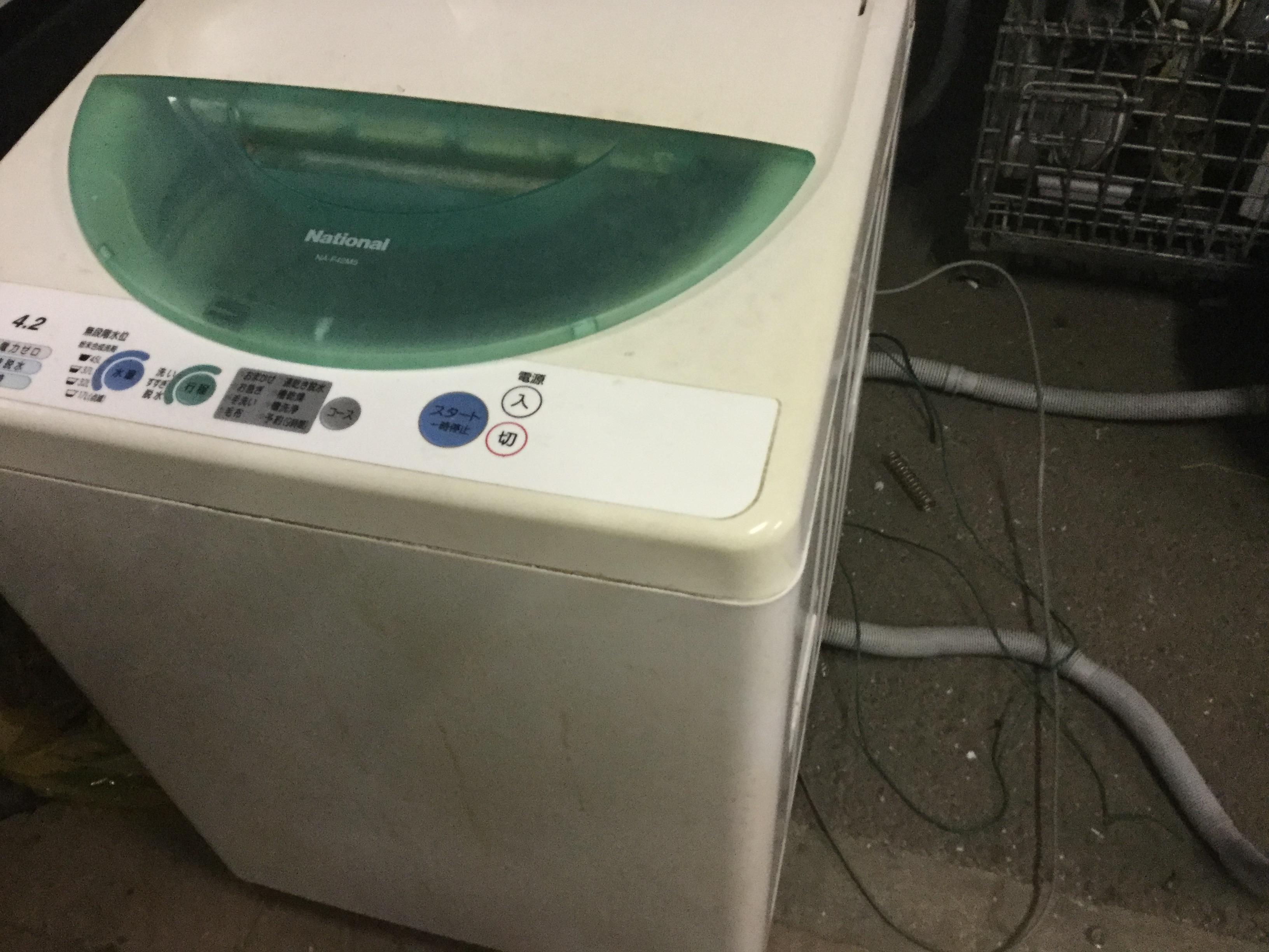 津山市で不用品回収した洗濯機