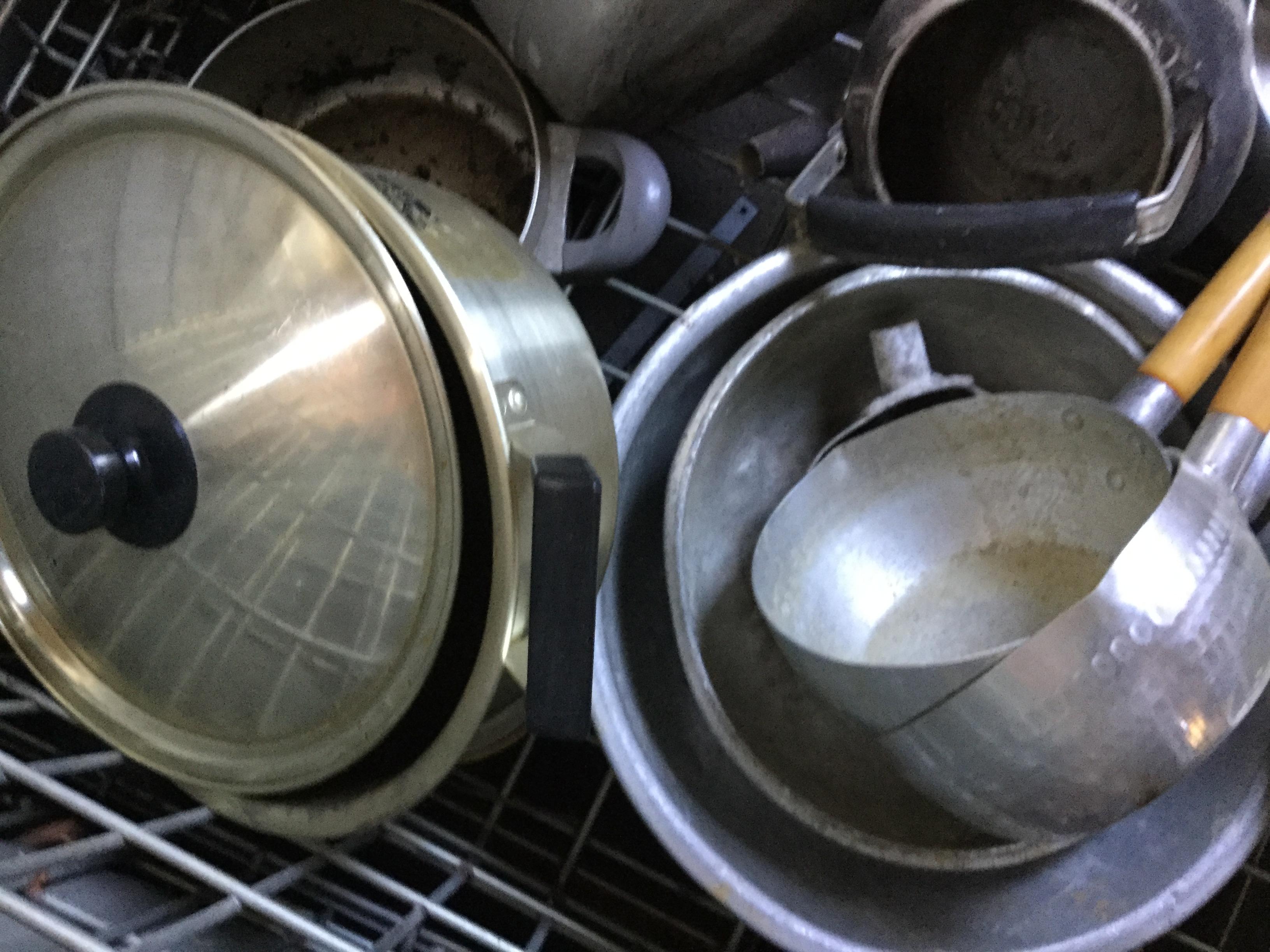岡山市南区で不用品回収した鍋類