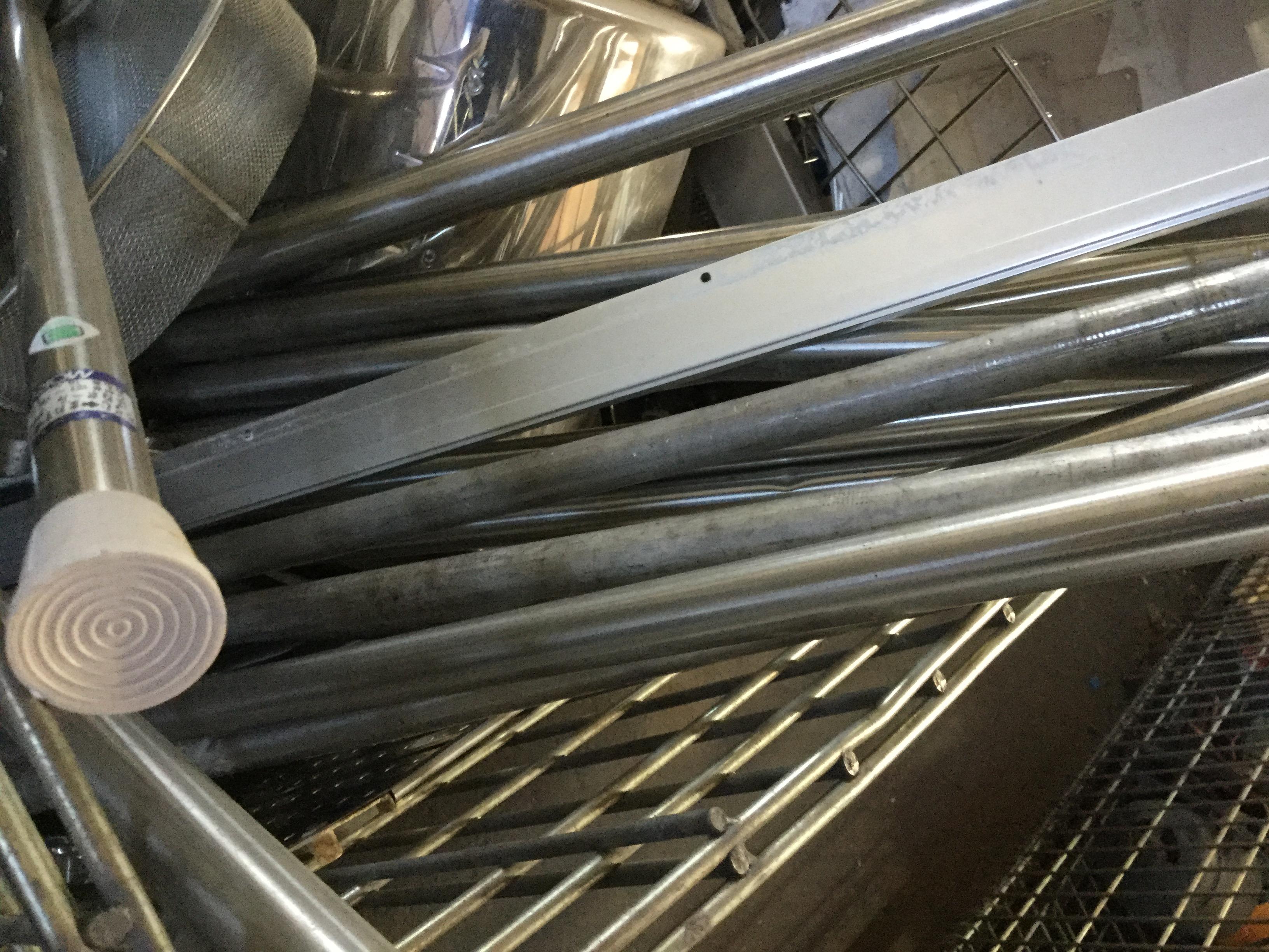 岡山市北区で不用品回収した鉄屑