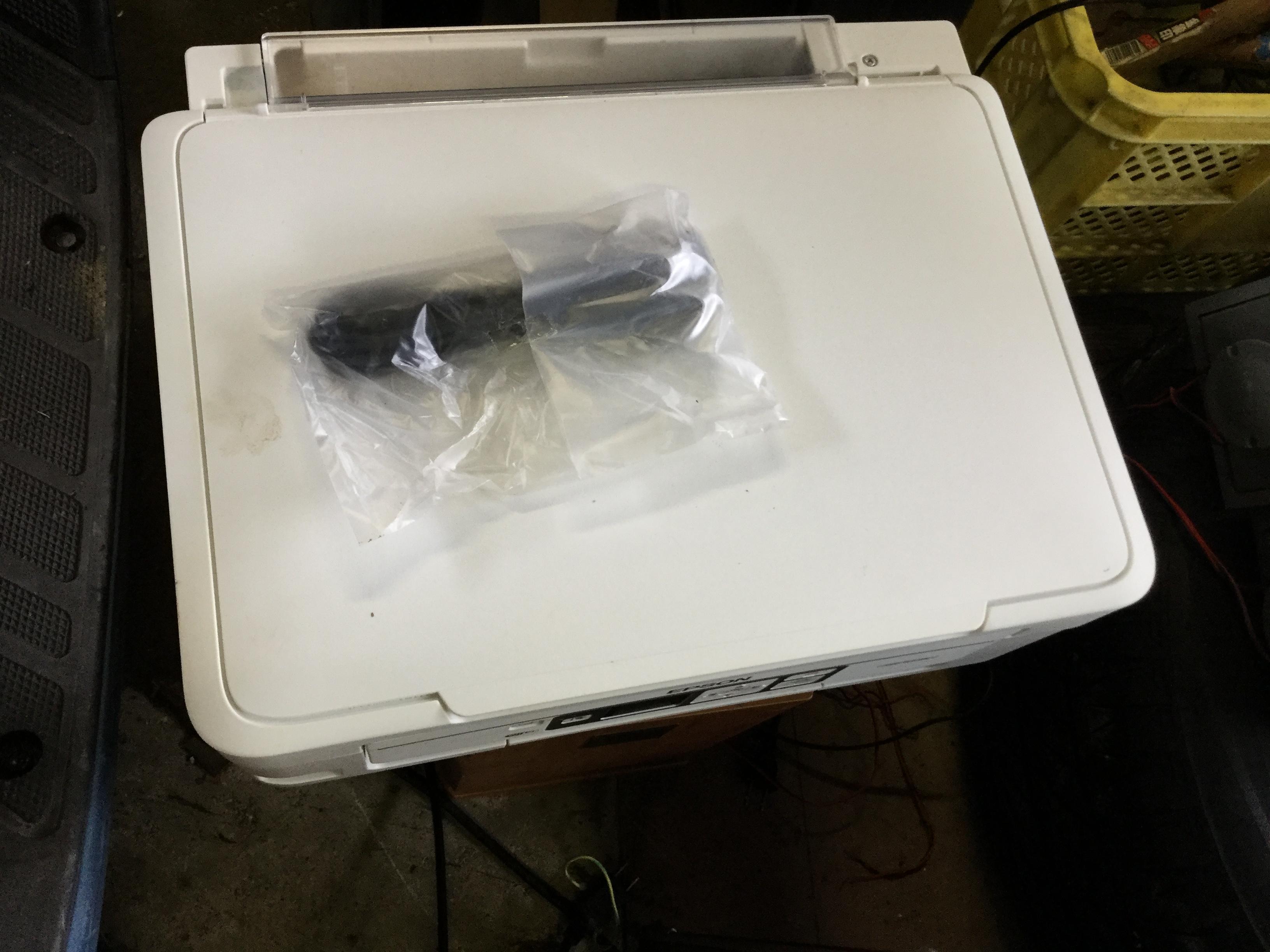 岡山市北区で回収したパソコン用プリンター