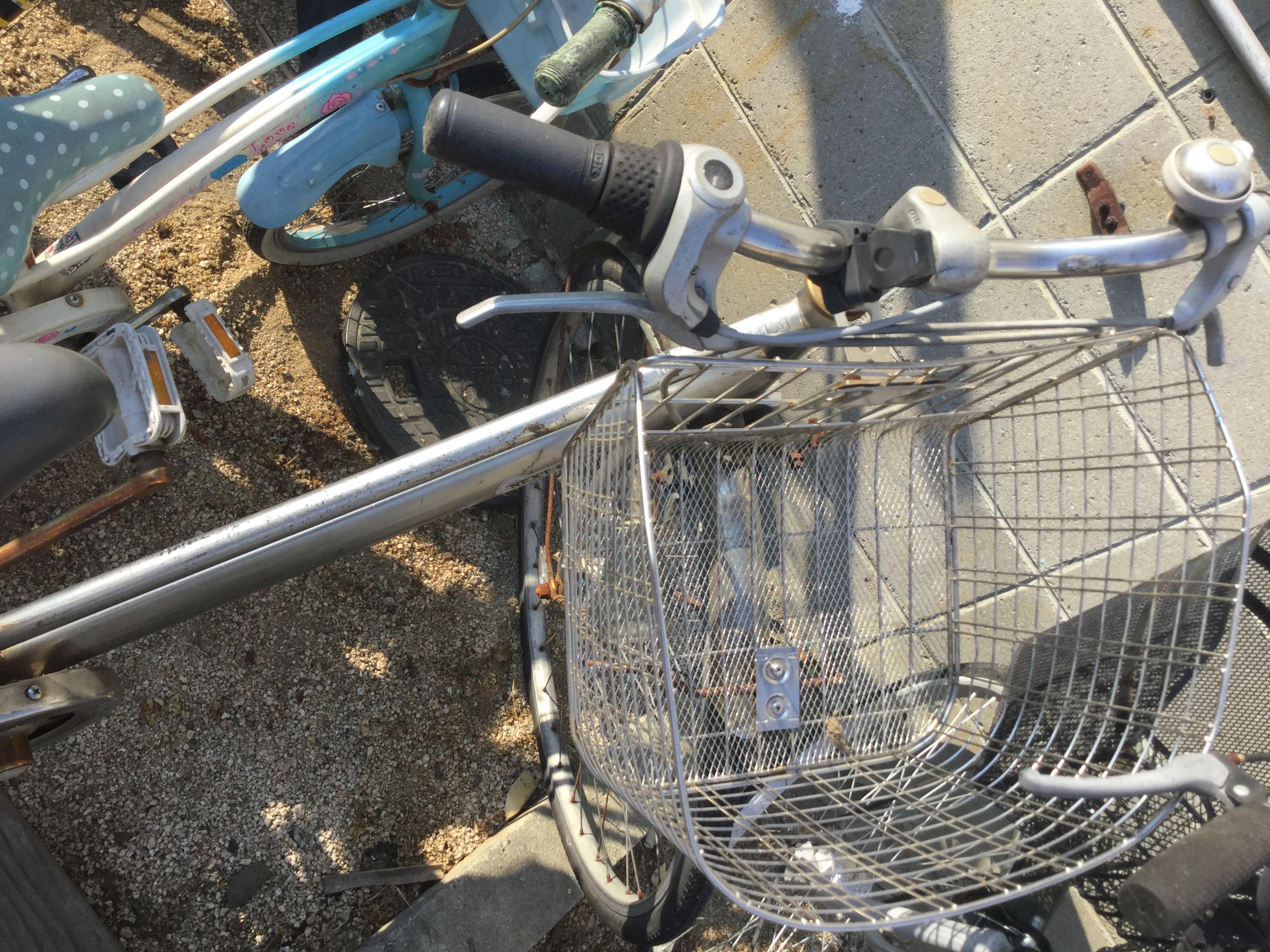 岡山県津山市で不用品回収した自転車