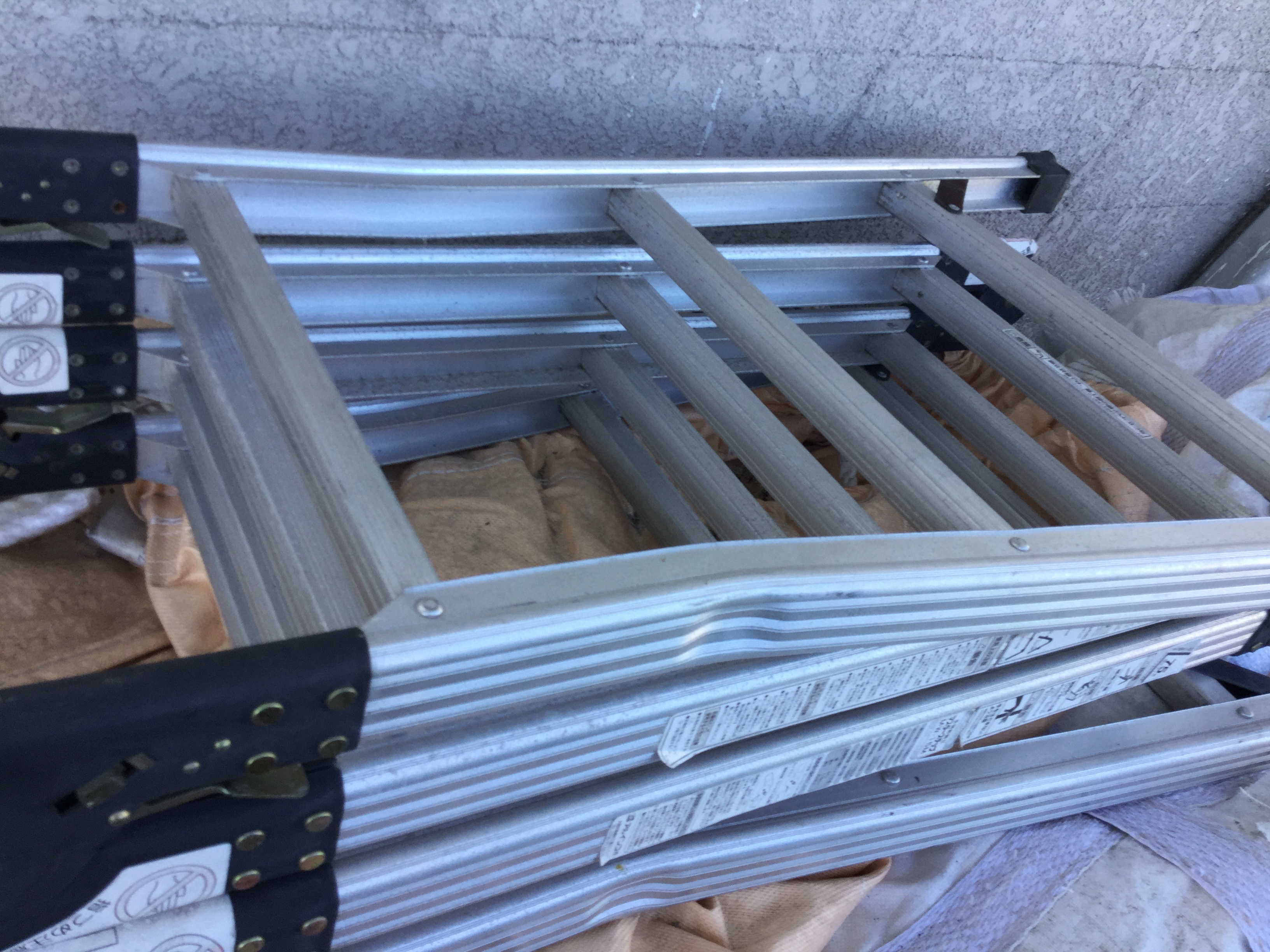 岡山市北区で不用品回収したアルミ