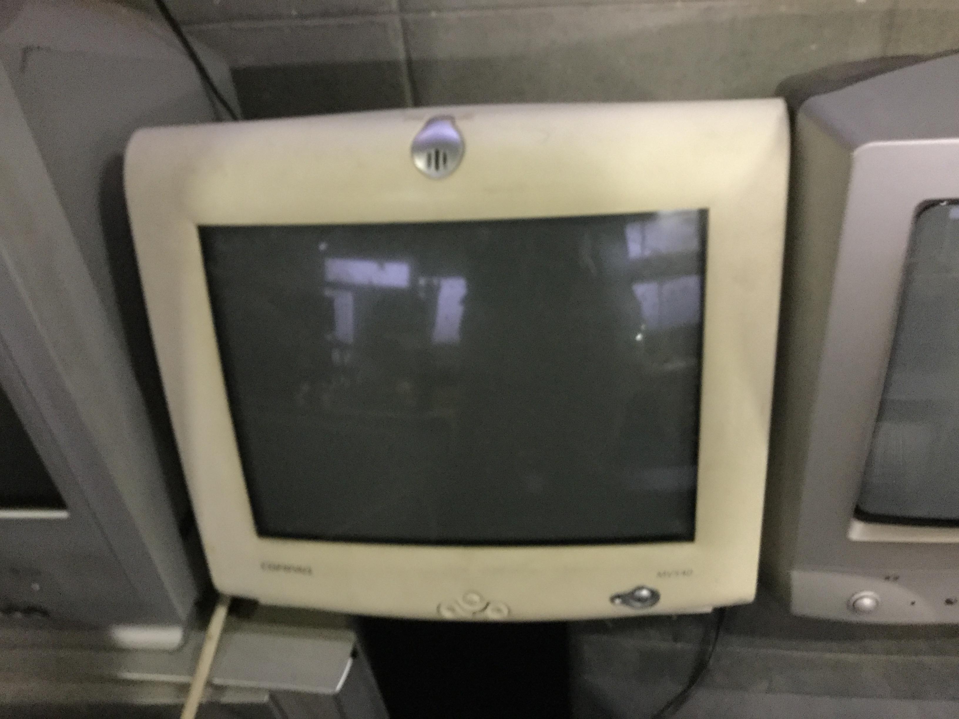 岡山市北区で回収したパソコンモニター