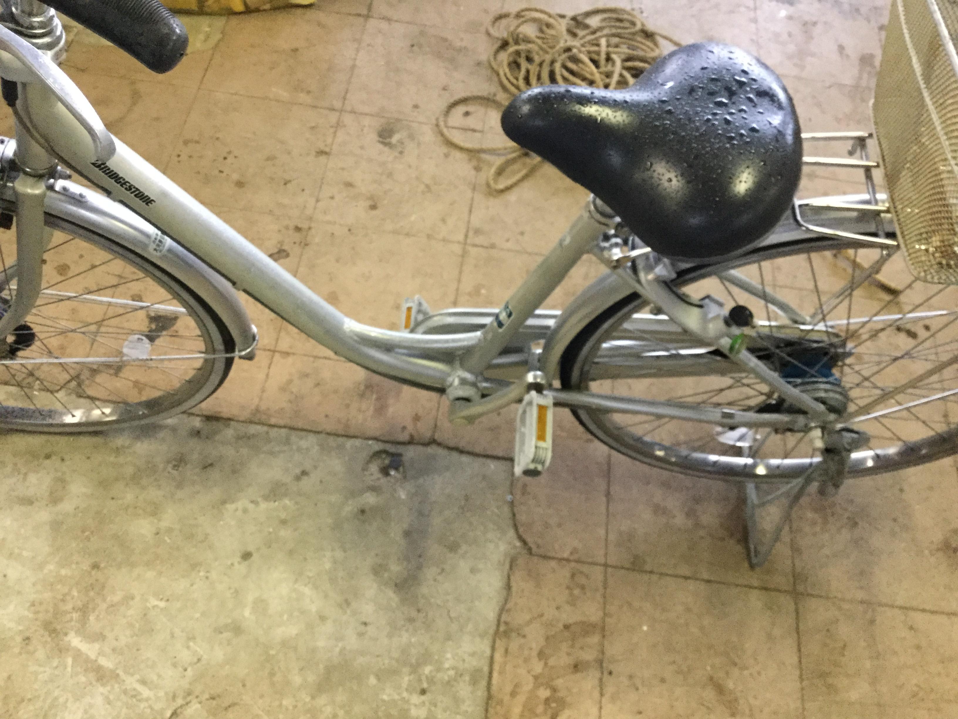 津山市で不用品の回収した自転車