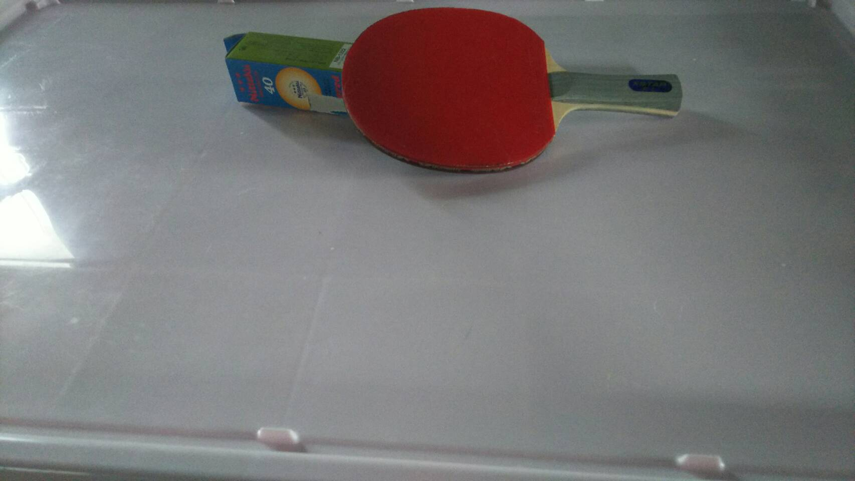津山市で不用品回収した卓球ラケット