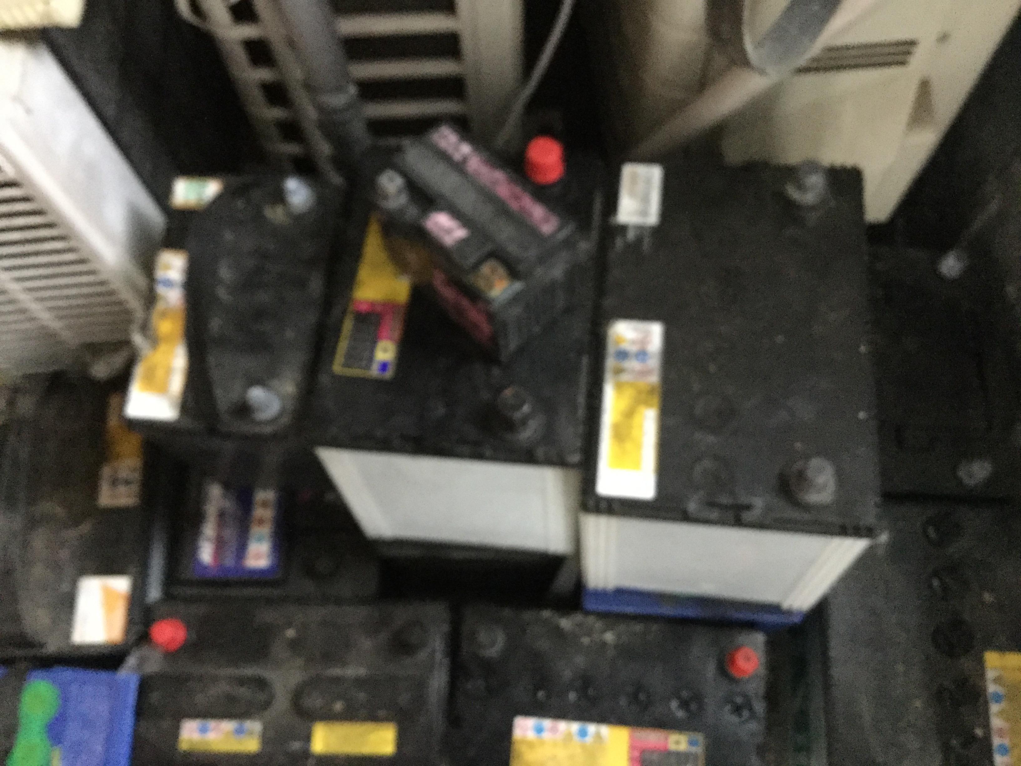 岡山市南区でバッテリーの回収