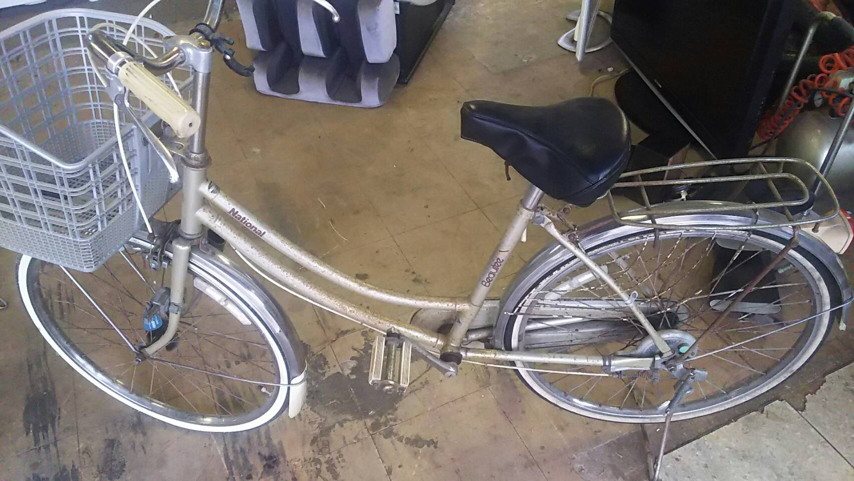 岡山市北区で自転車回収