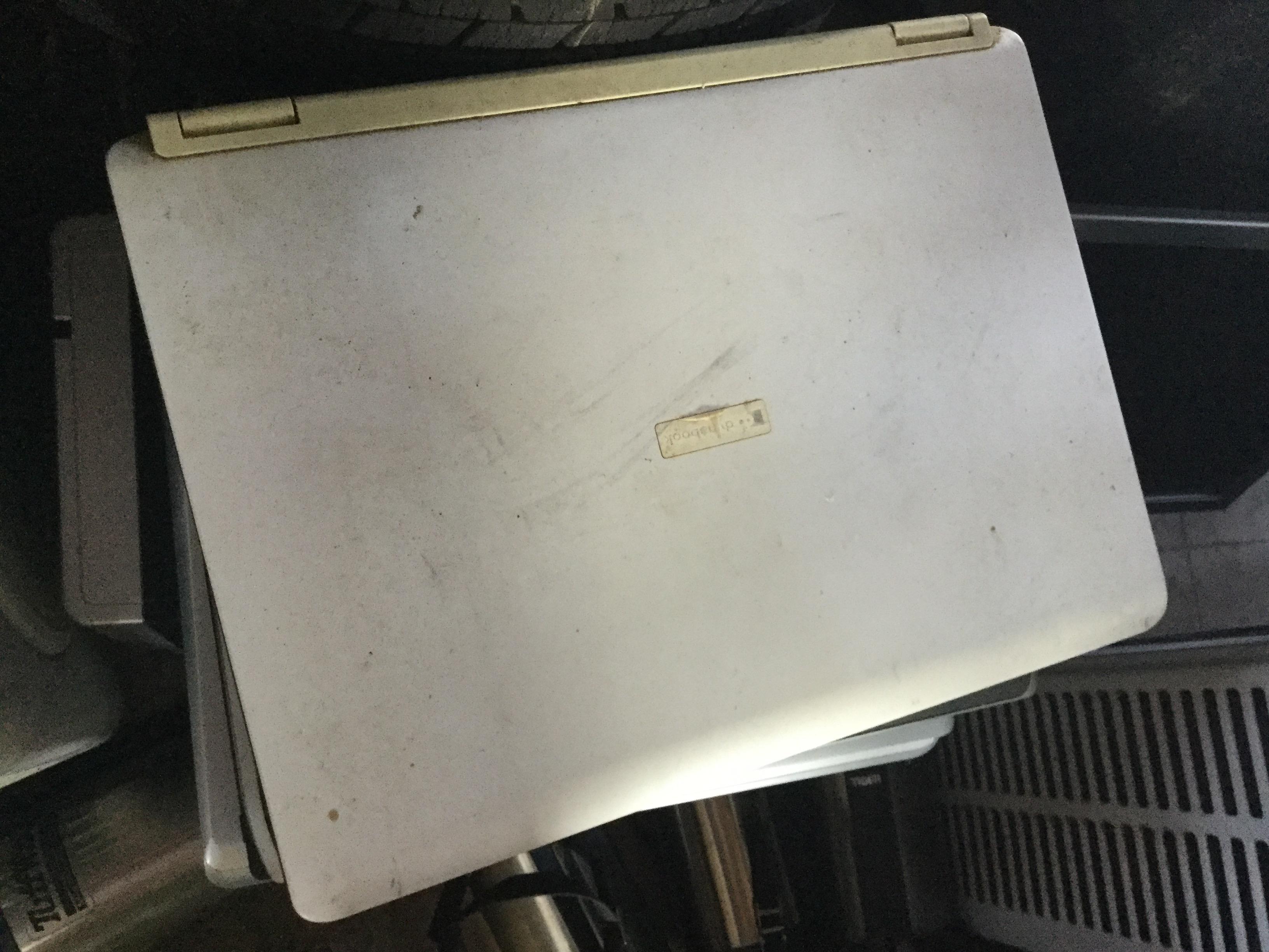 津山市で不用品回収したノートパソコン