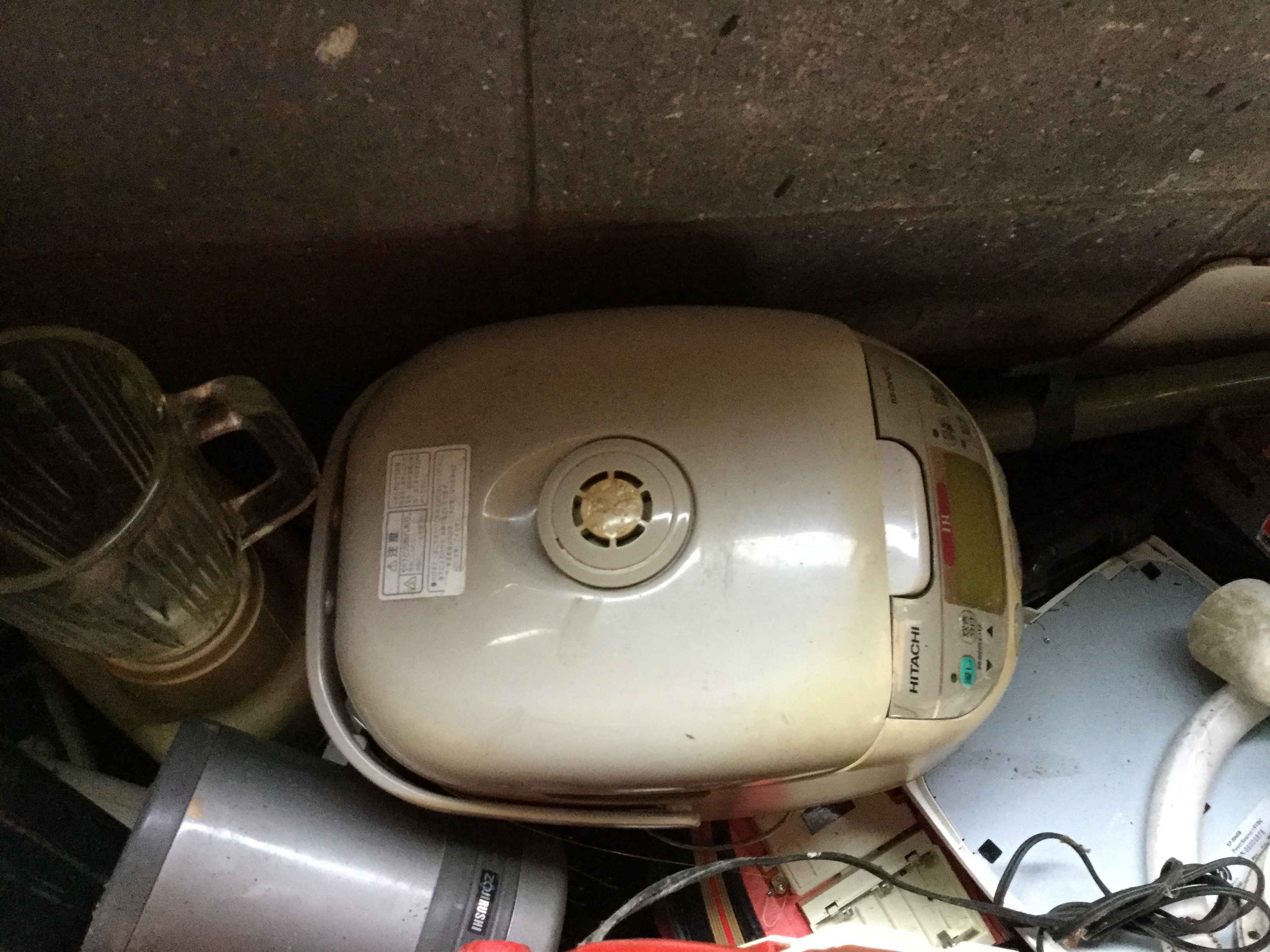 津山市で不用品回収した炊飯器
