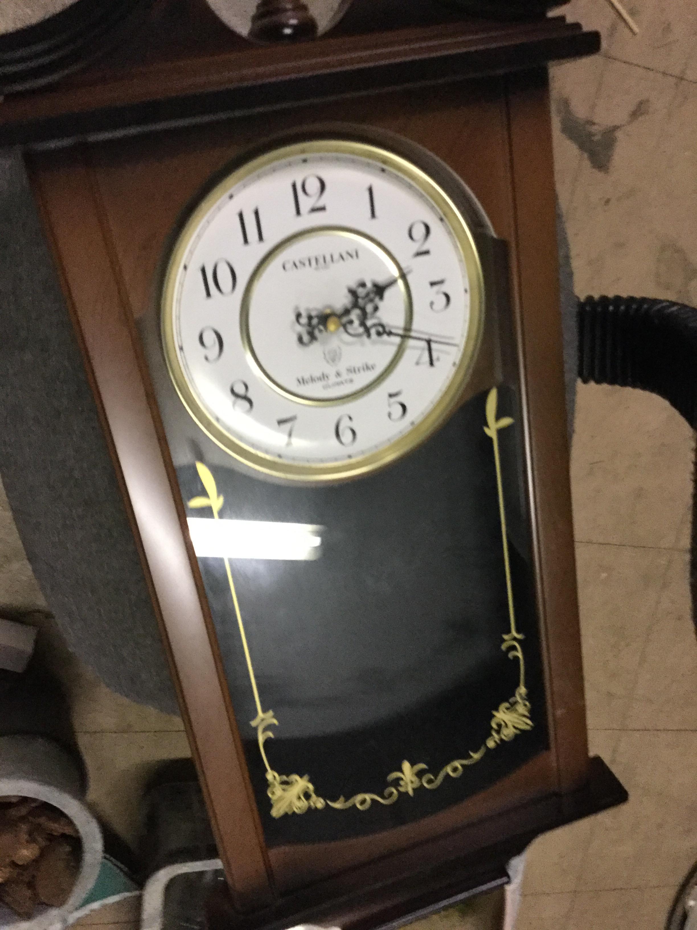 岡山市北区で不用品回収した置き時計