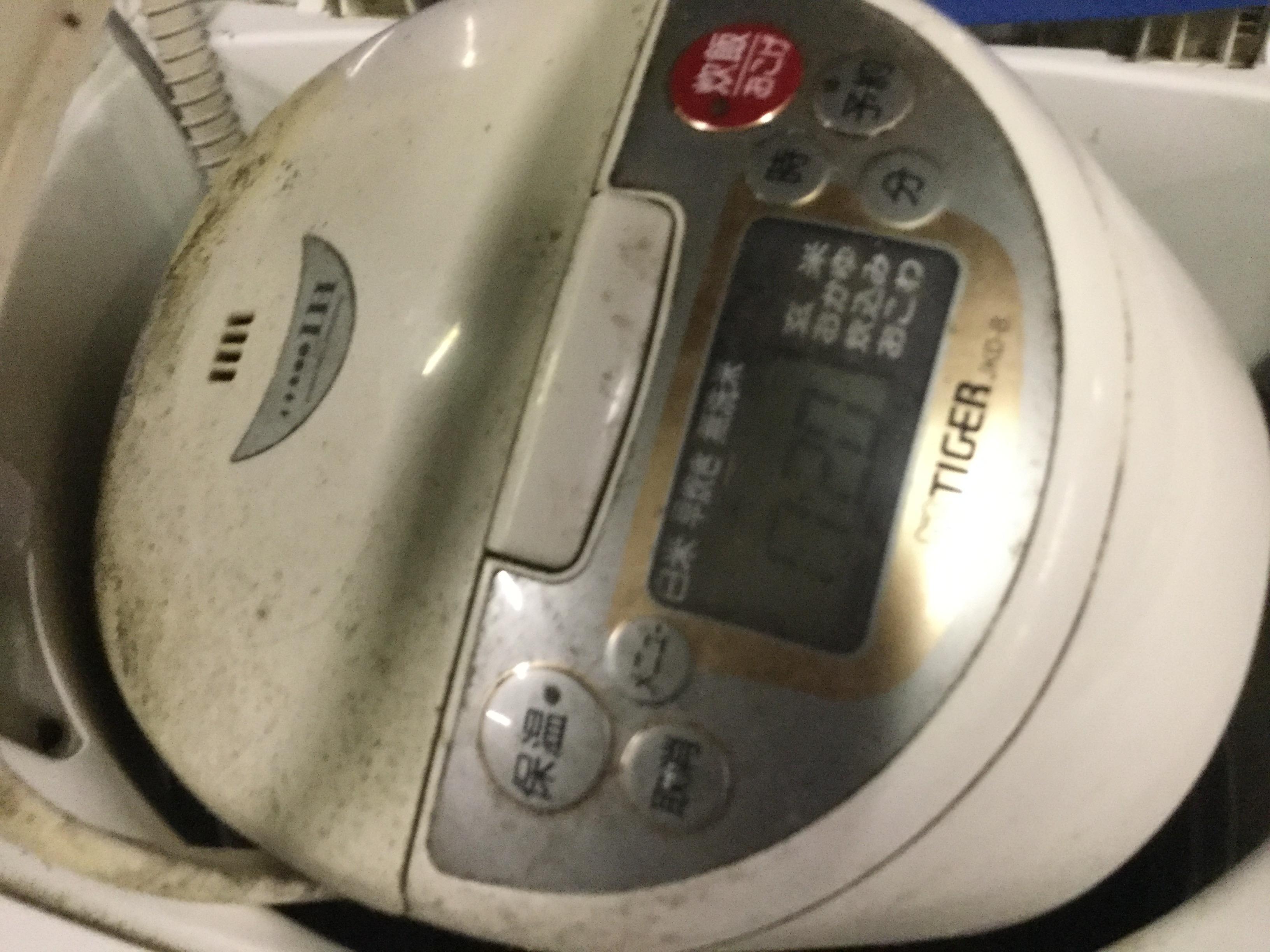 岡山市南区で不用品回収した炊飯器