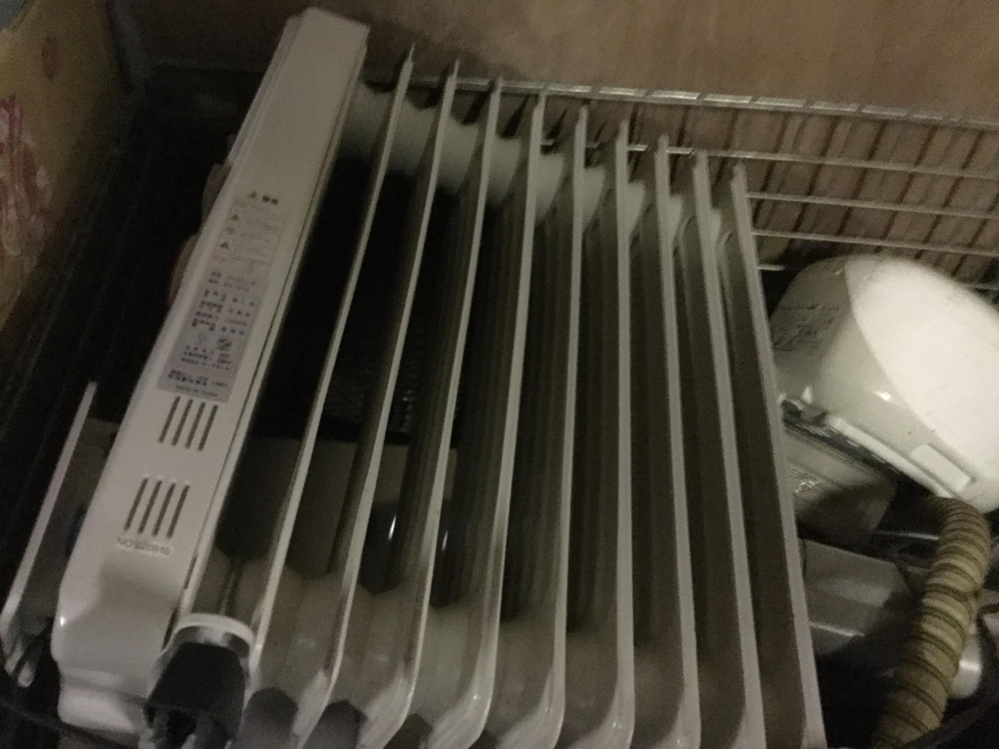 津山市で不用品回収したオイルヒーター
