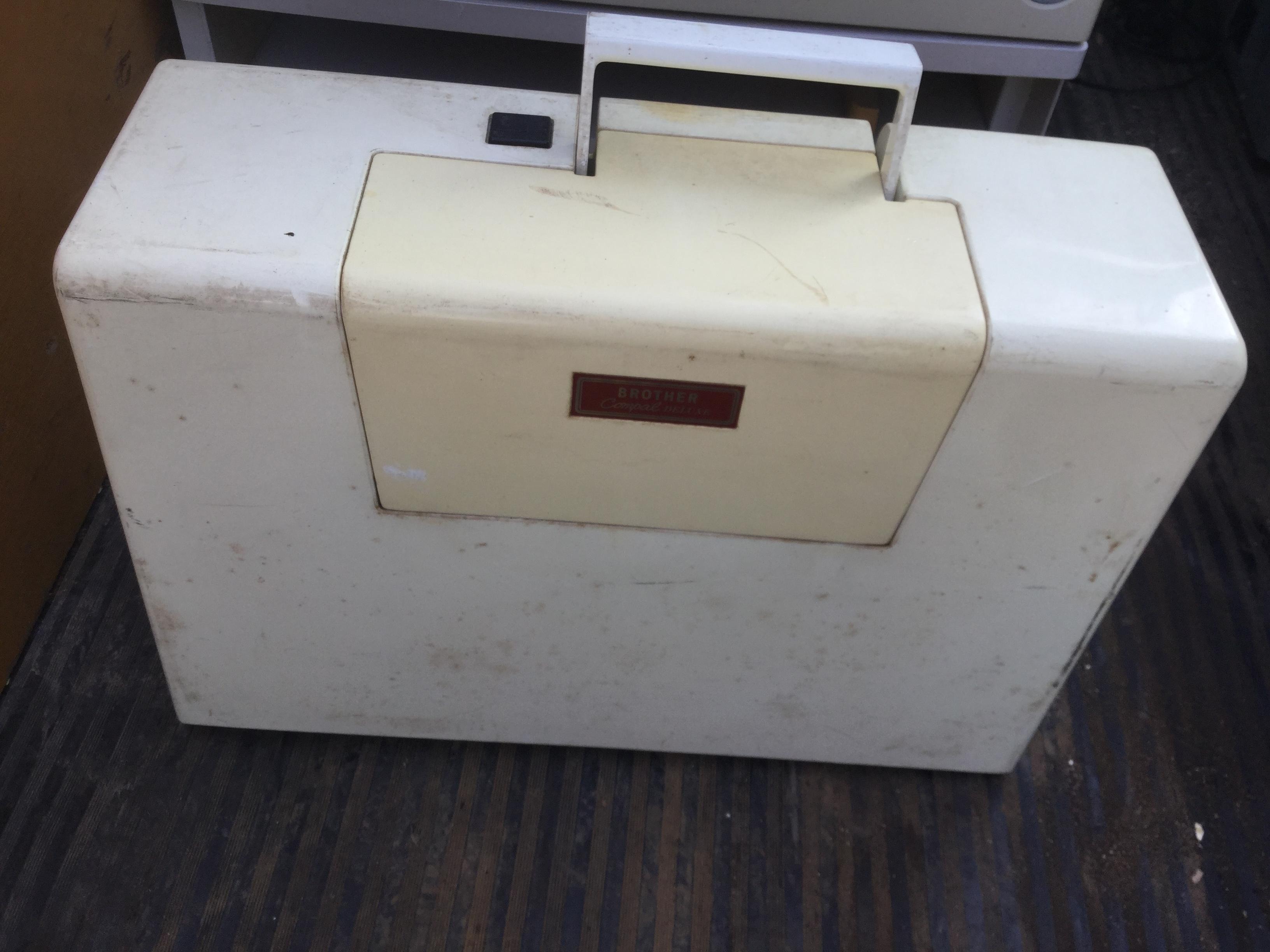 津山市で不用品回収したミシン