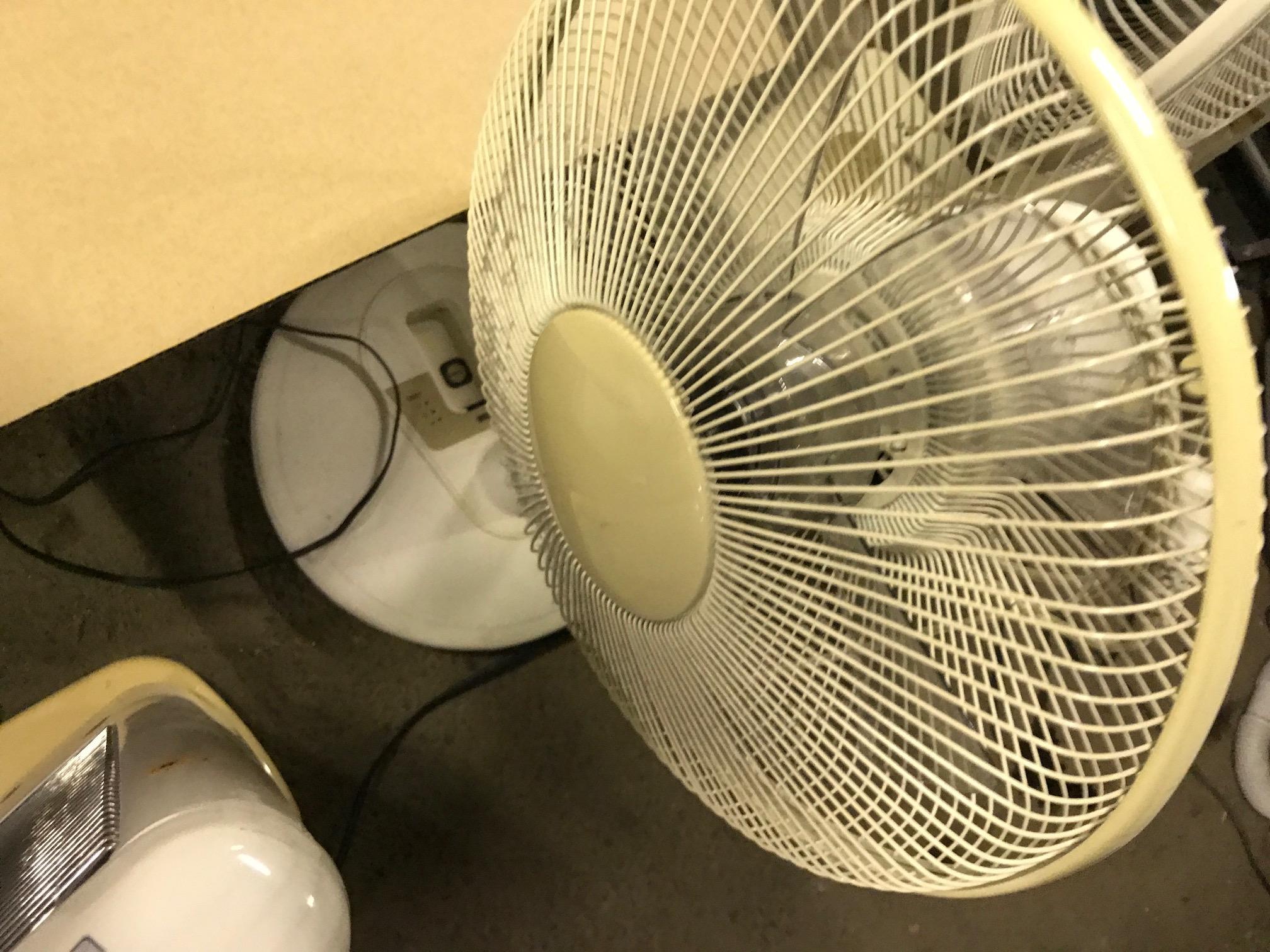 玉野市で不用品回収した扇風機