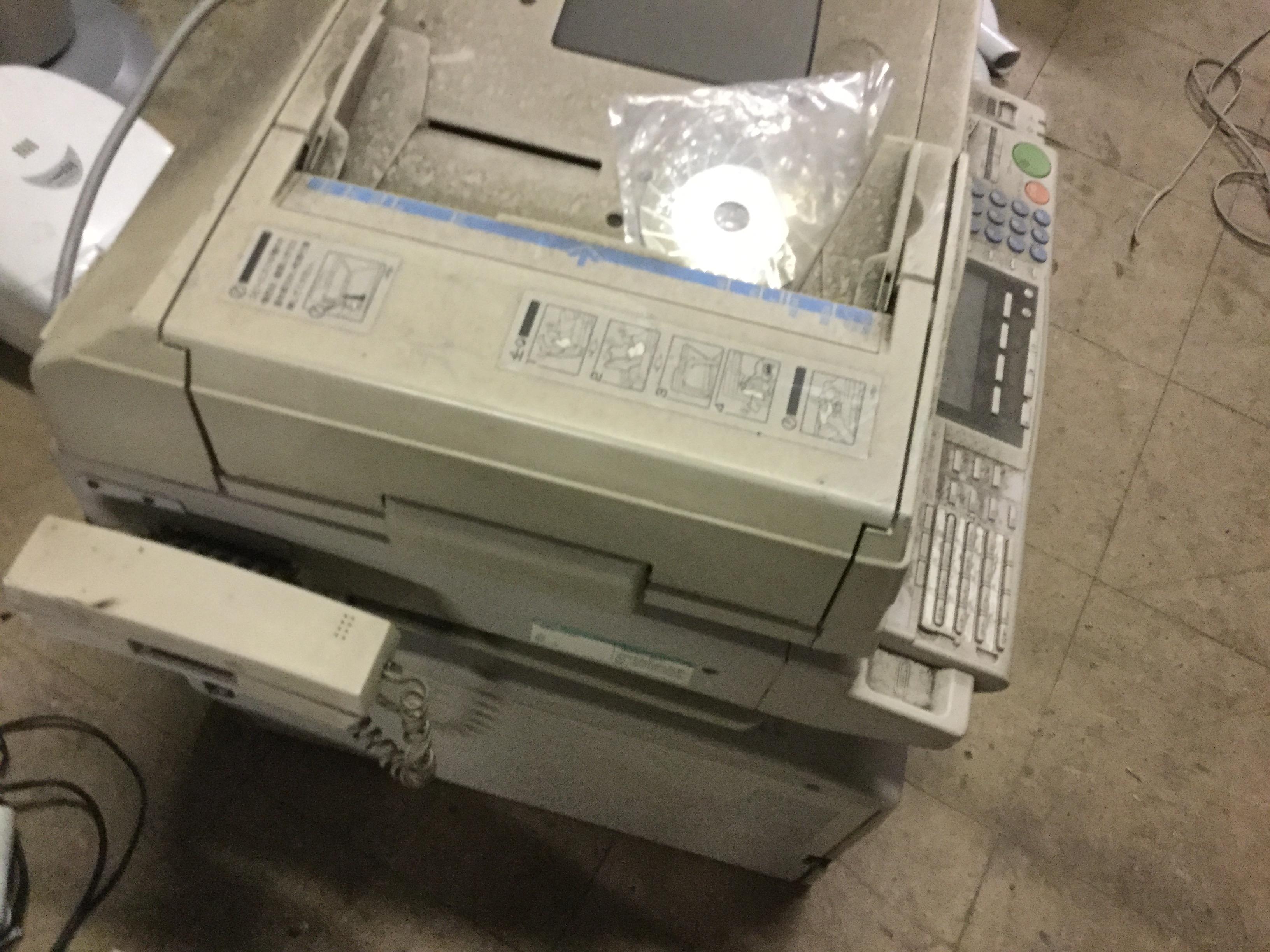 玉野市で不用品回収したコピー機