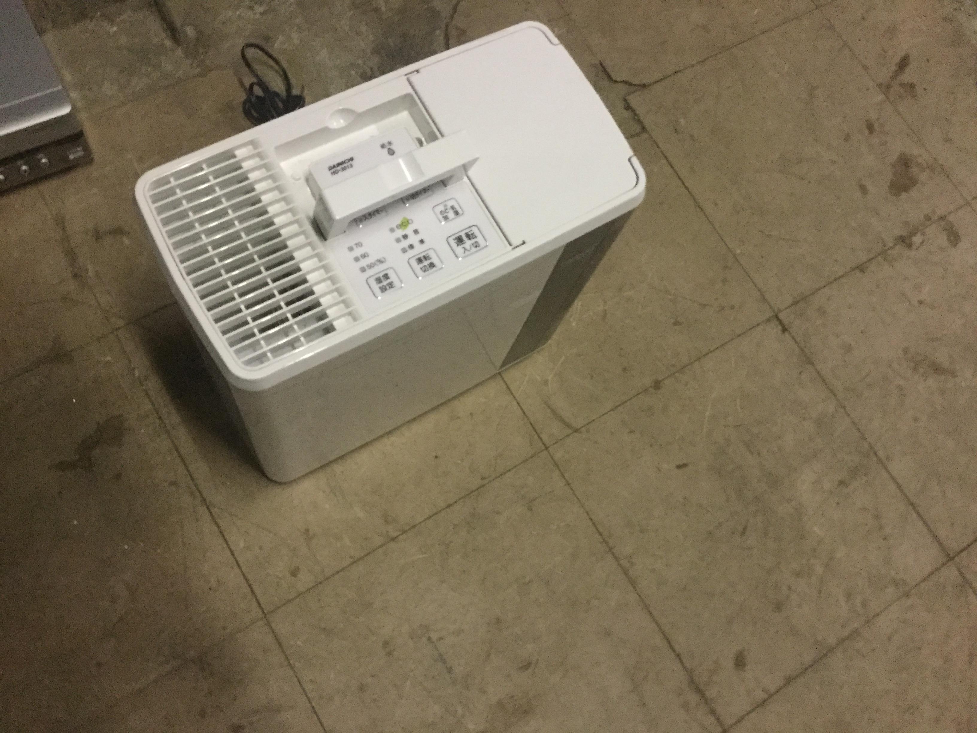 津山市で不用品の回収した空気清浄機