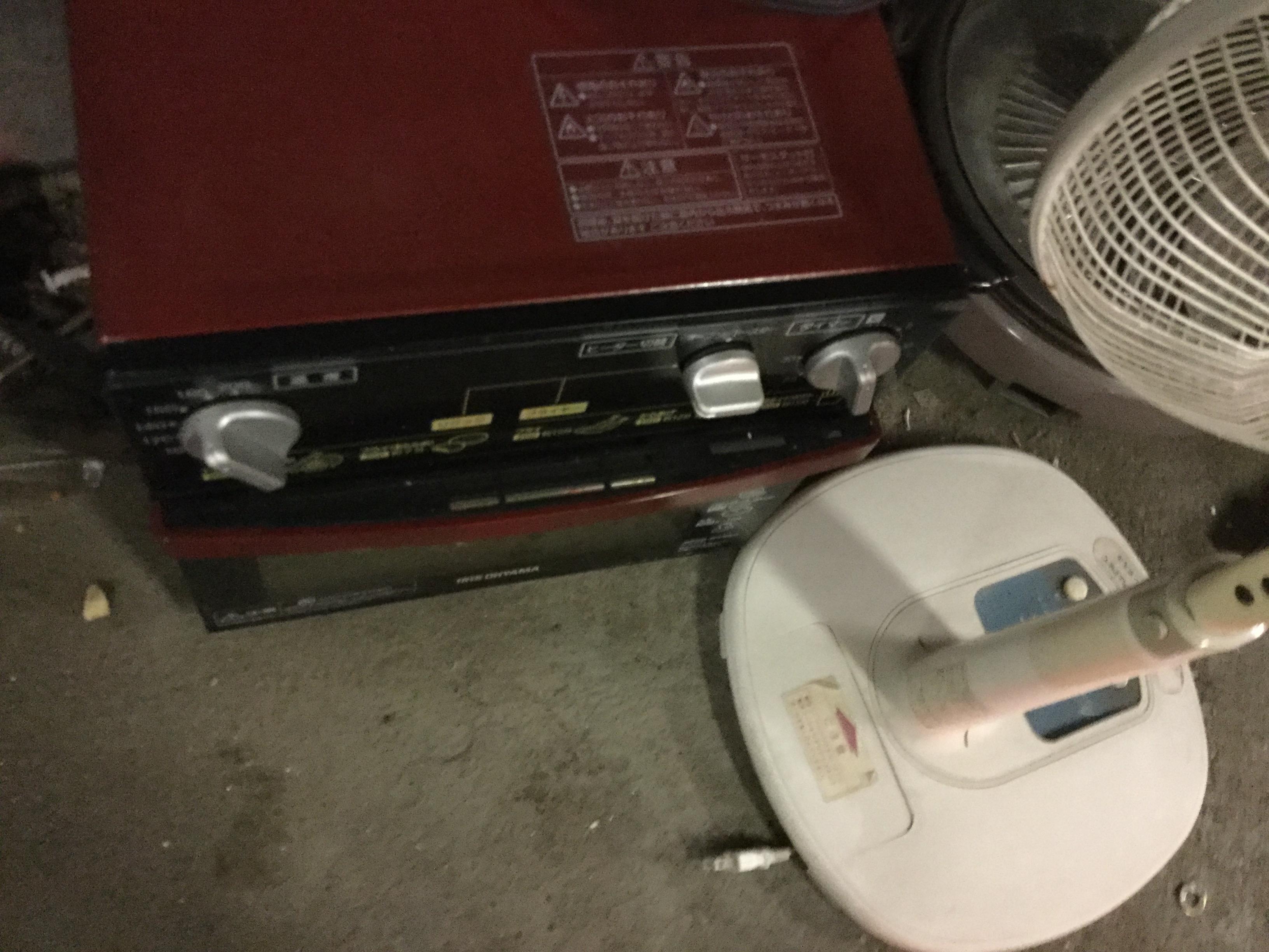 岡山市南区で不用品回収した電子レンジ