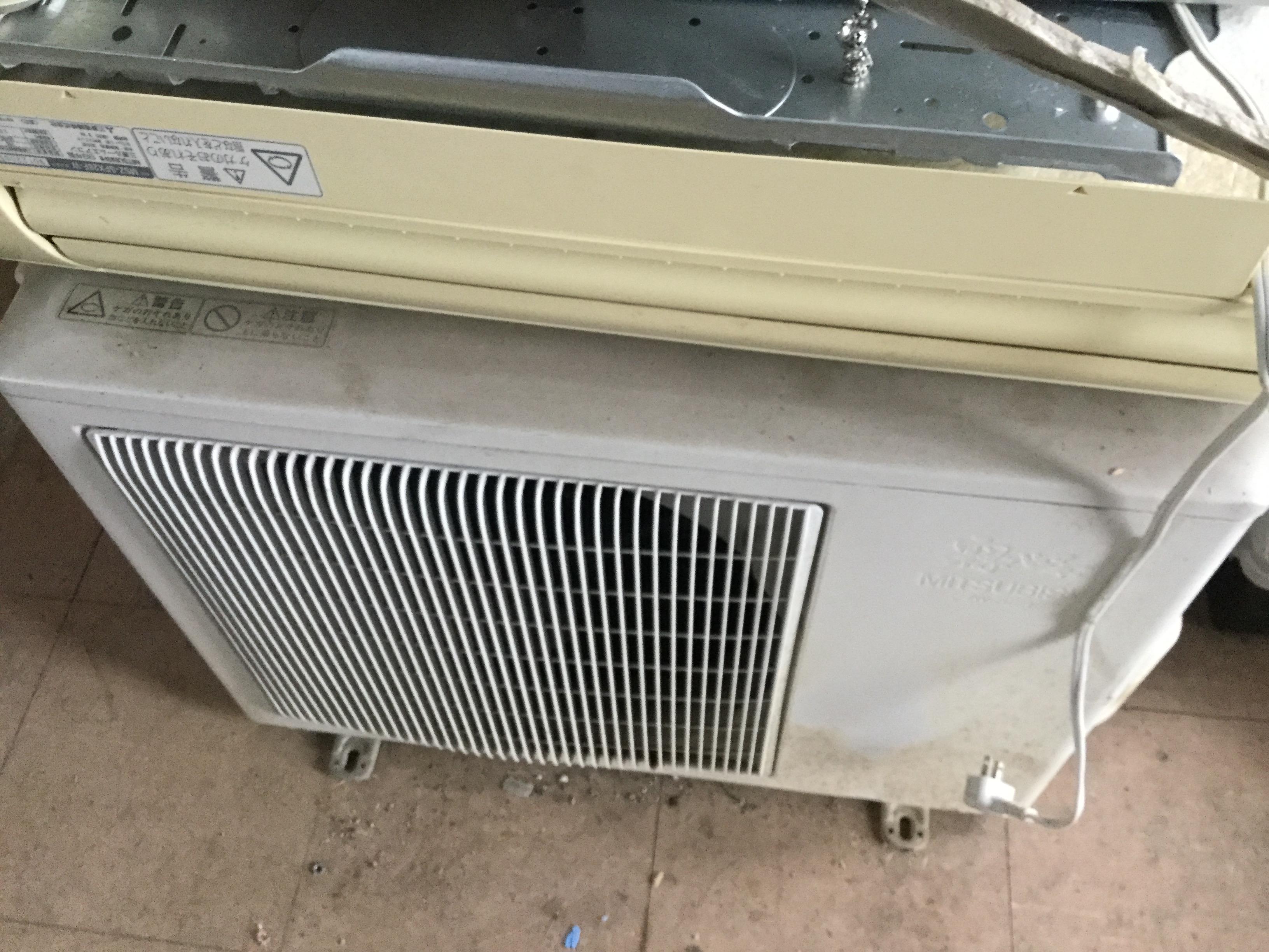 岡山市東区でエアコン回収、処分
