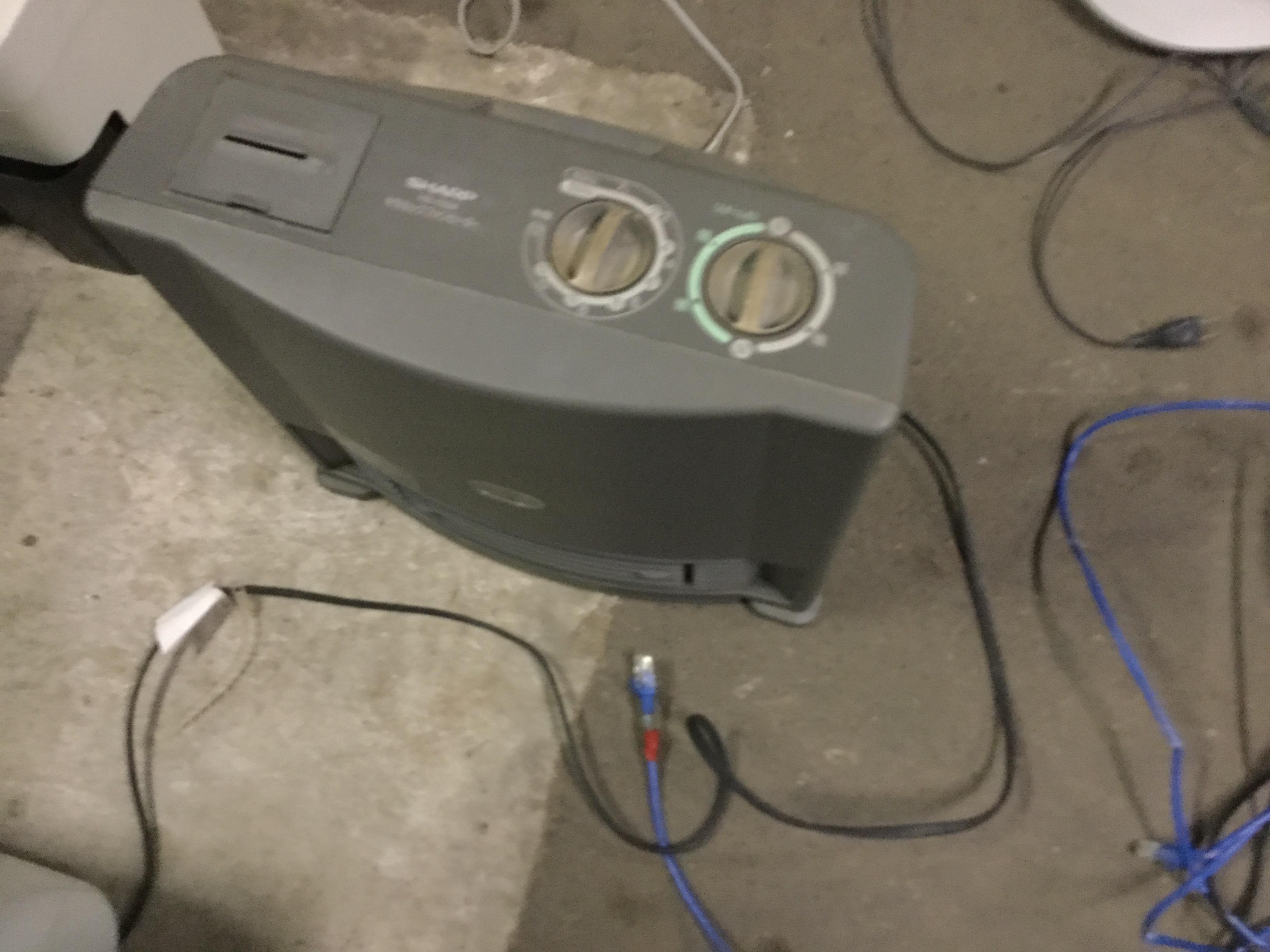 岡山市南区で不用品回収した空気清浄機