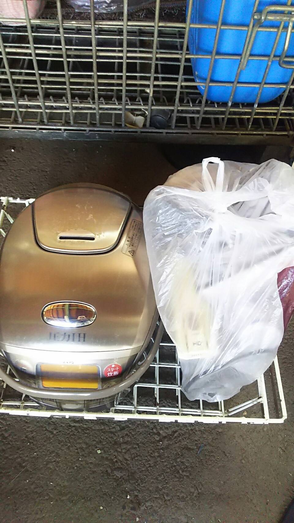 玉野市で不用品回収した炊飯器