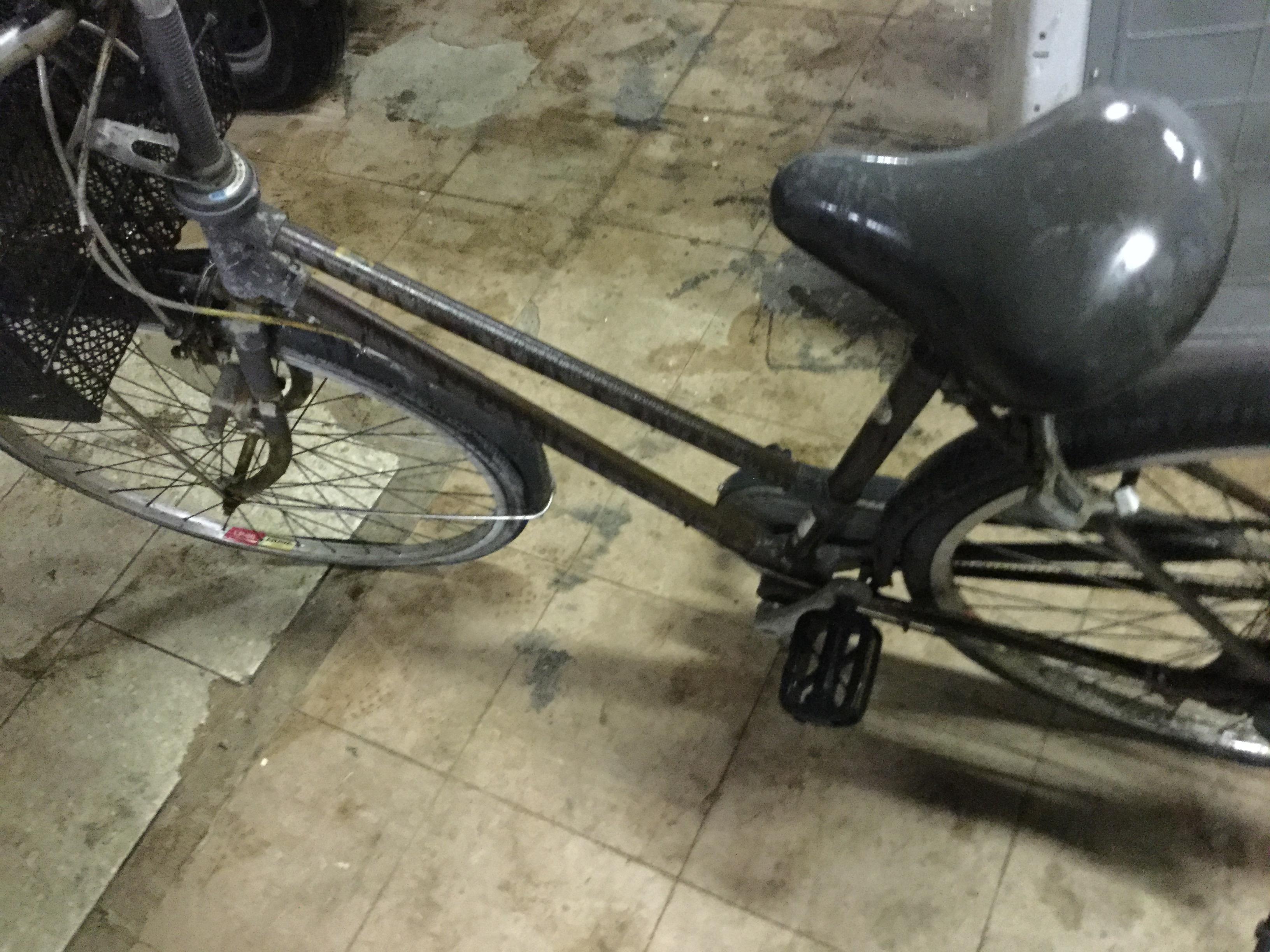 岡山市南区で自転車回収