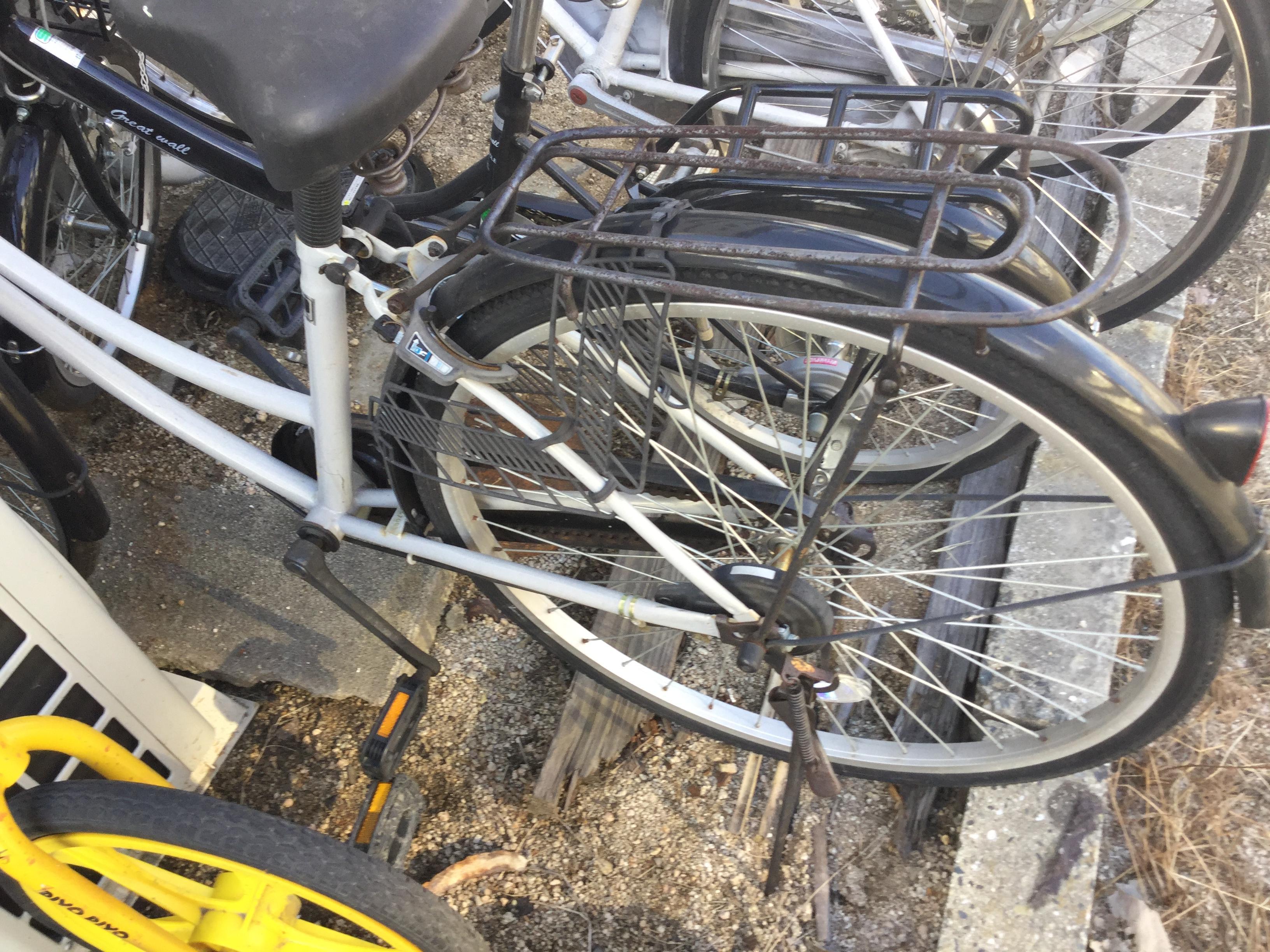 津山市で不用品回収した自転車