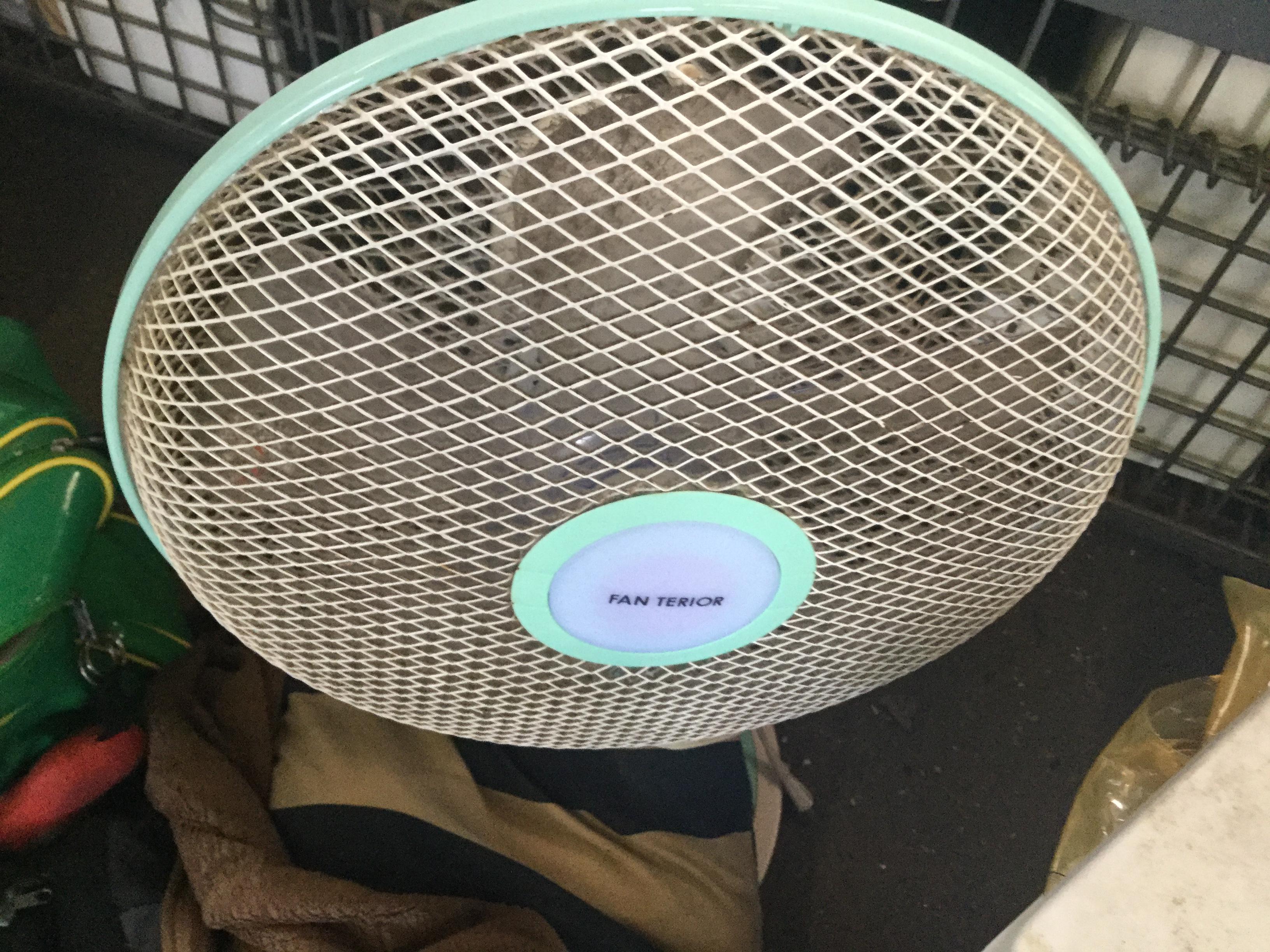 岡山市南区で不用品回収・処分した扇風機
