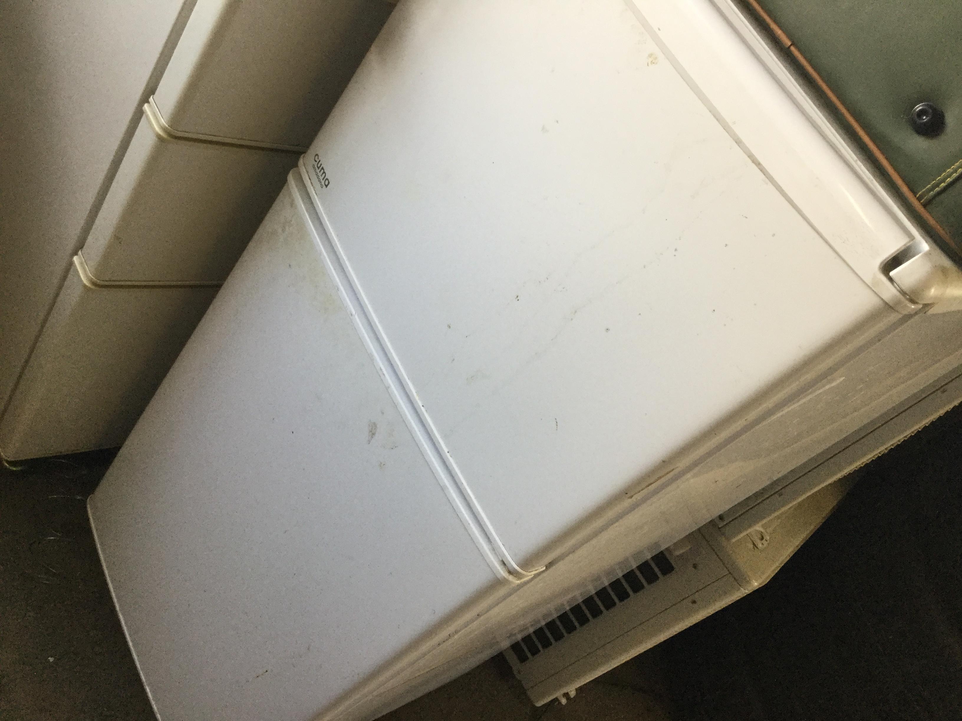 岡山市南区で不用品回収・処分した冷蔵庫